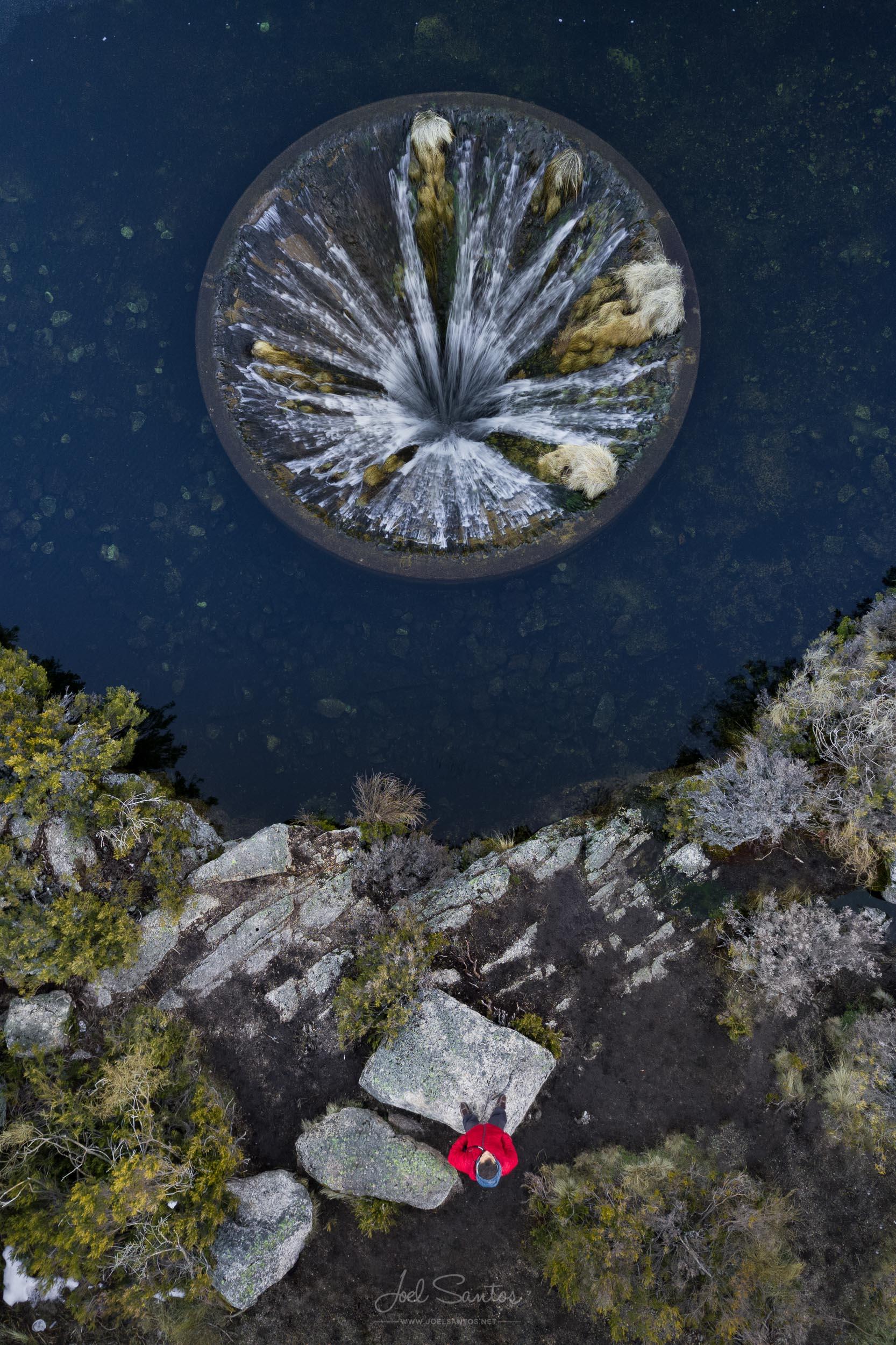 Covão dos Conchos, Drain Hole, Serra da Estrela, Portugal