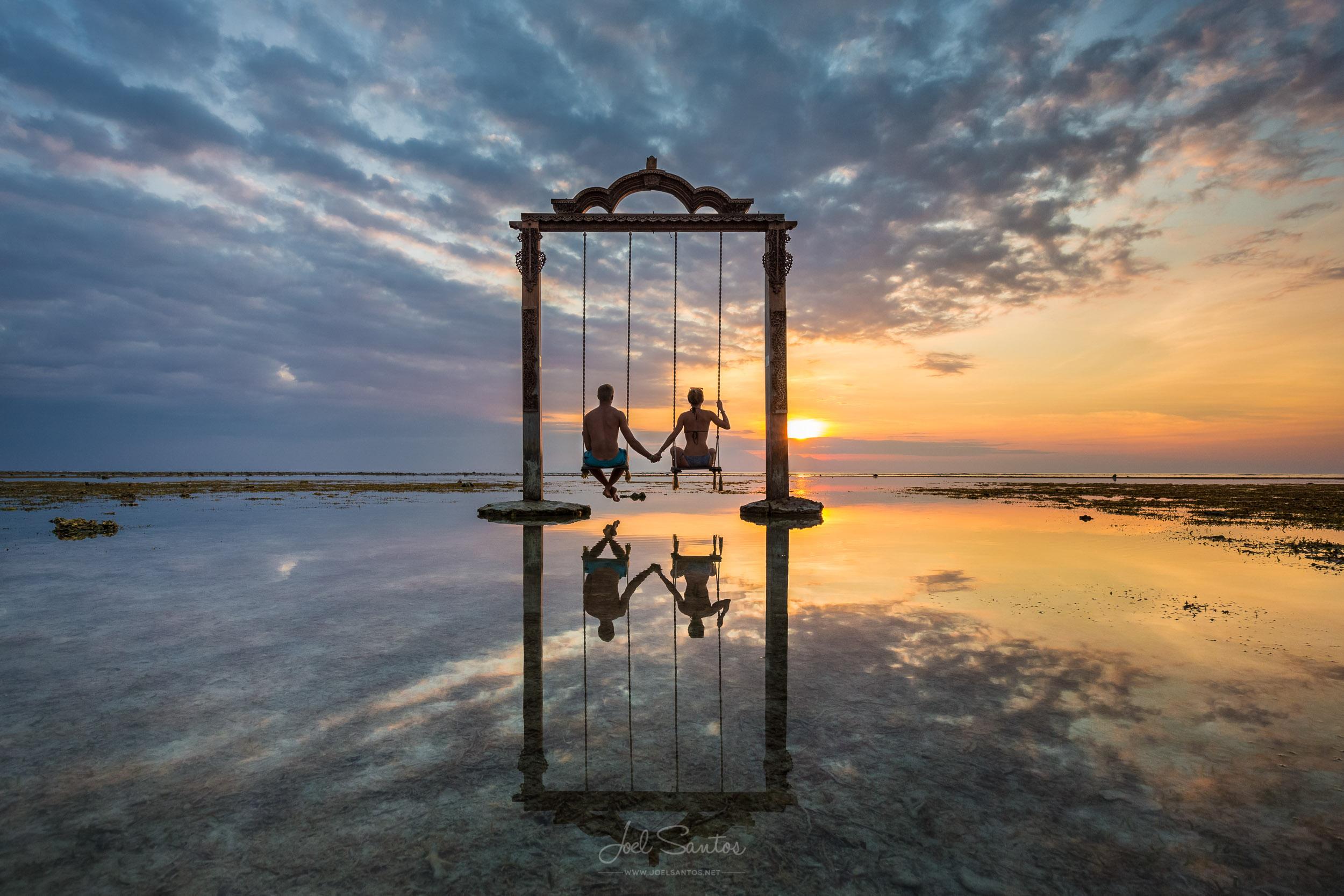 Ocean Swing, Gili island, Lombok, Indonesia