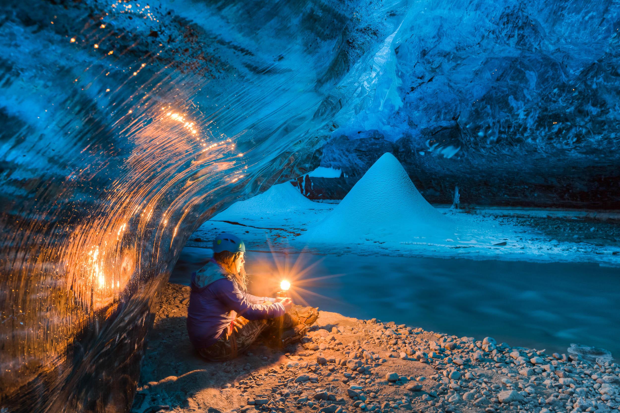 Ice Cave, Glaciar, Iceland