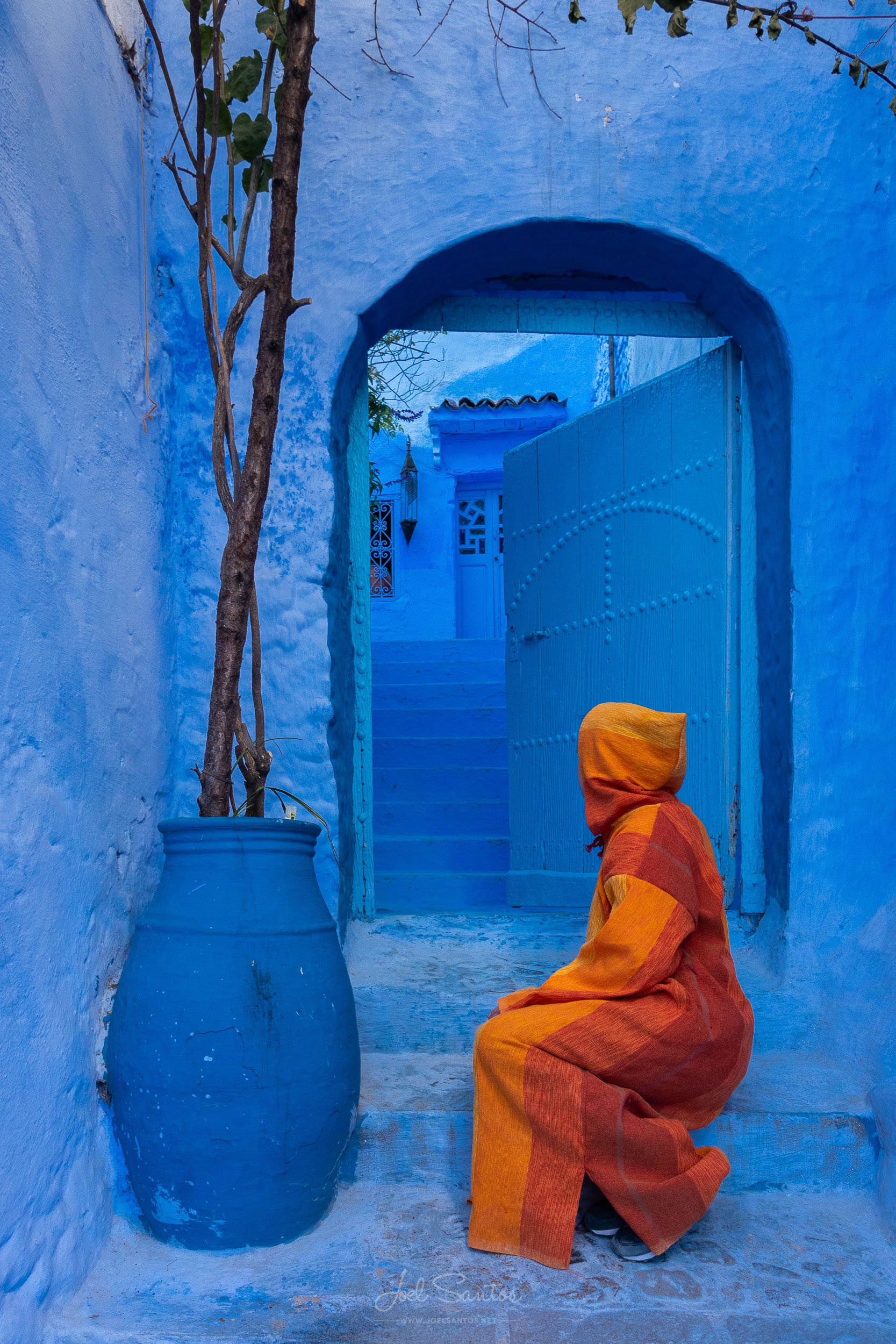 Chefchaouen, Blue city, Marocco