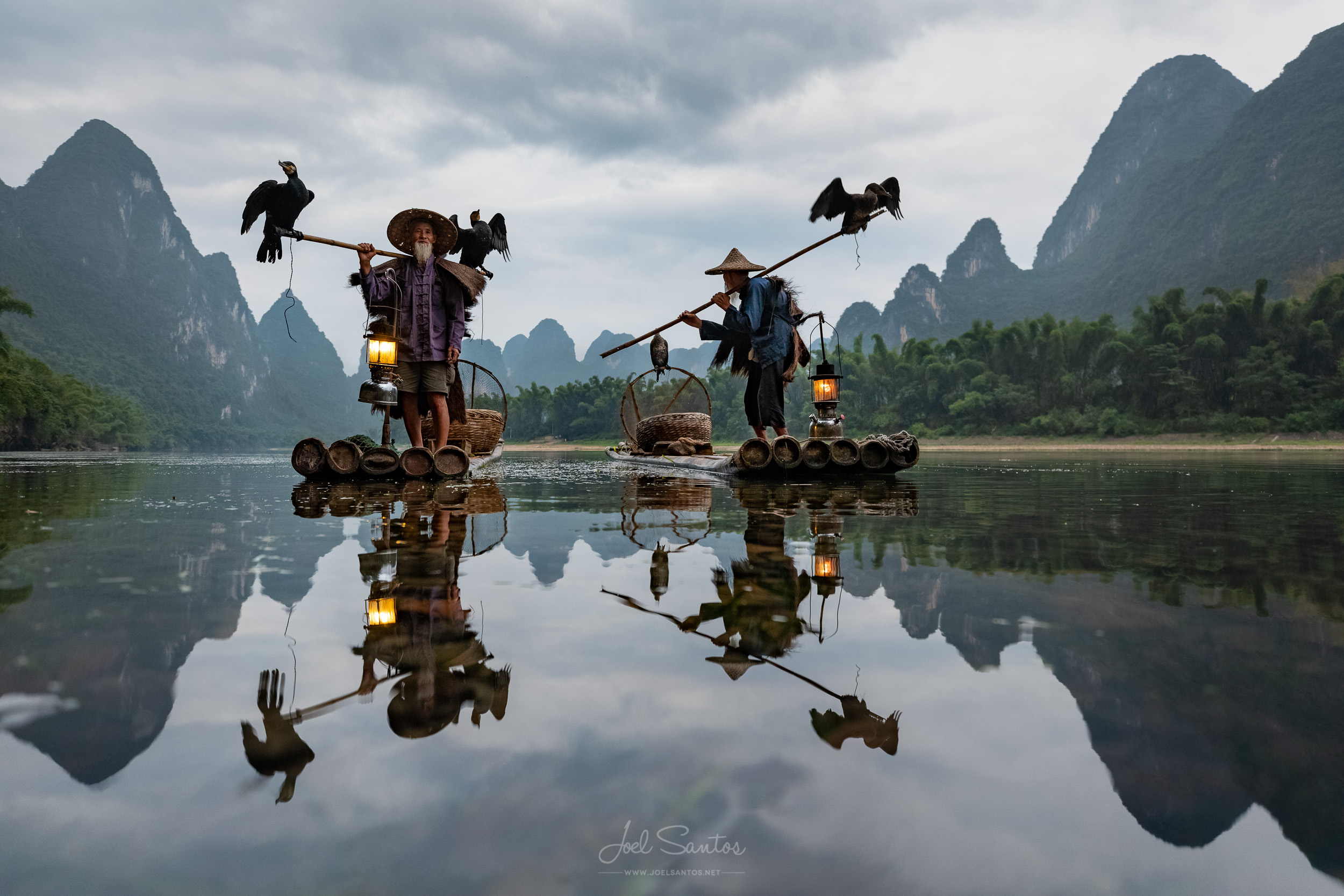 Cormorant Fishermen - A tradition that faded away in less than a decade…