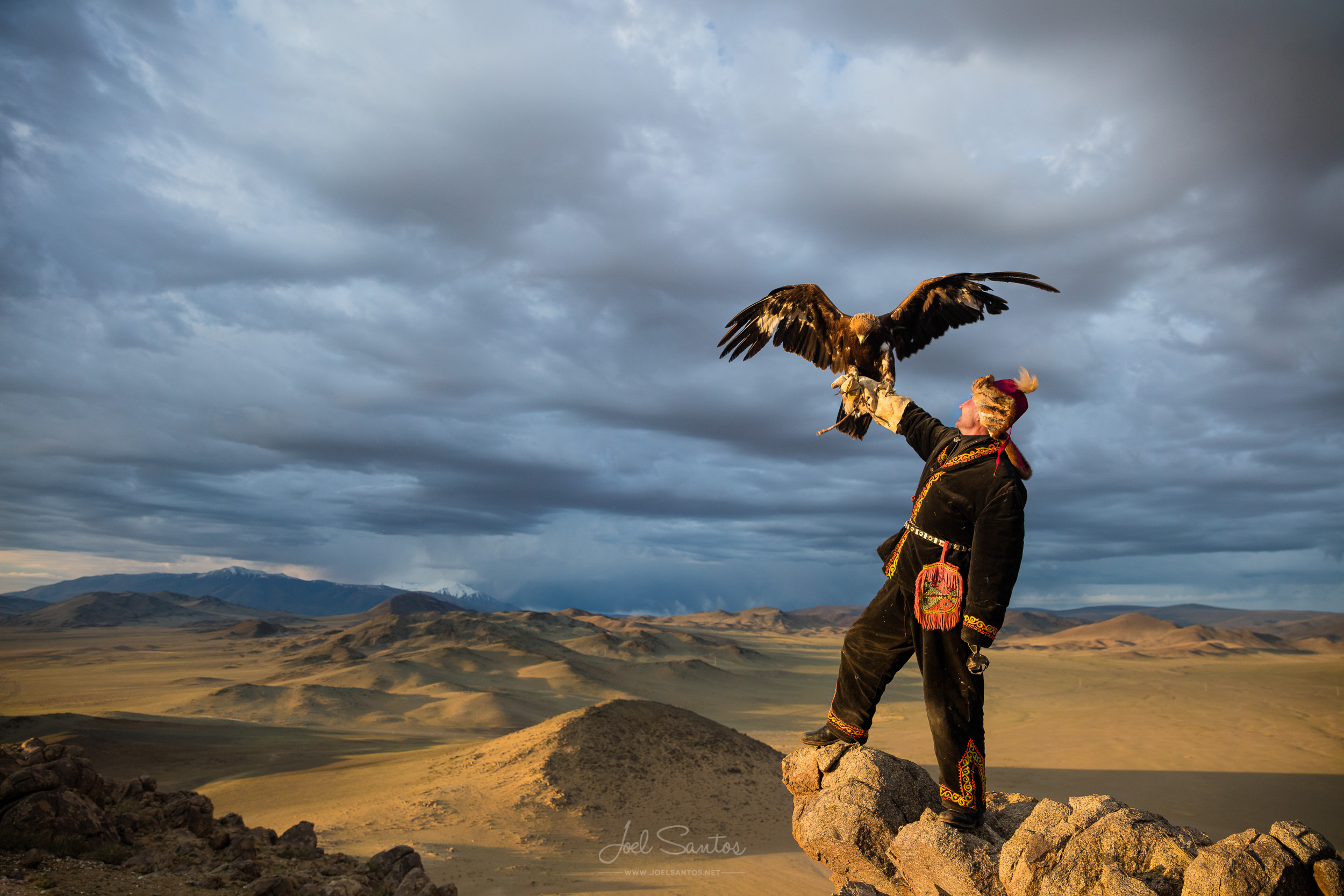 Agalai Nurgaiv, Aishol Pan father, Eagle Hunter, Altai, Western