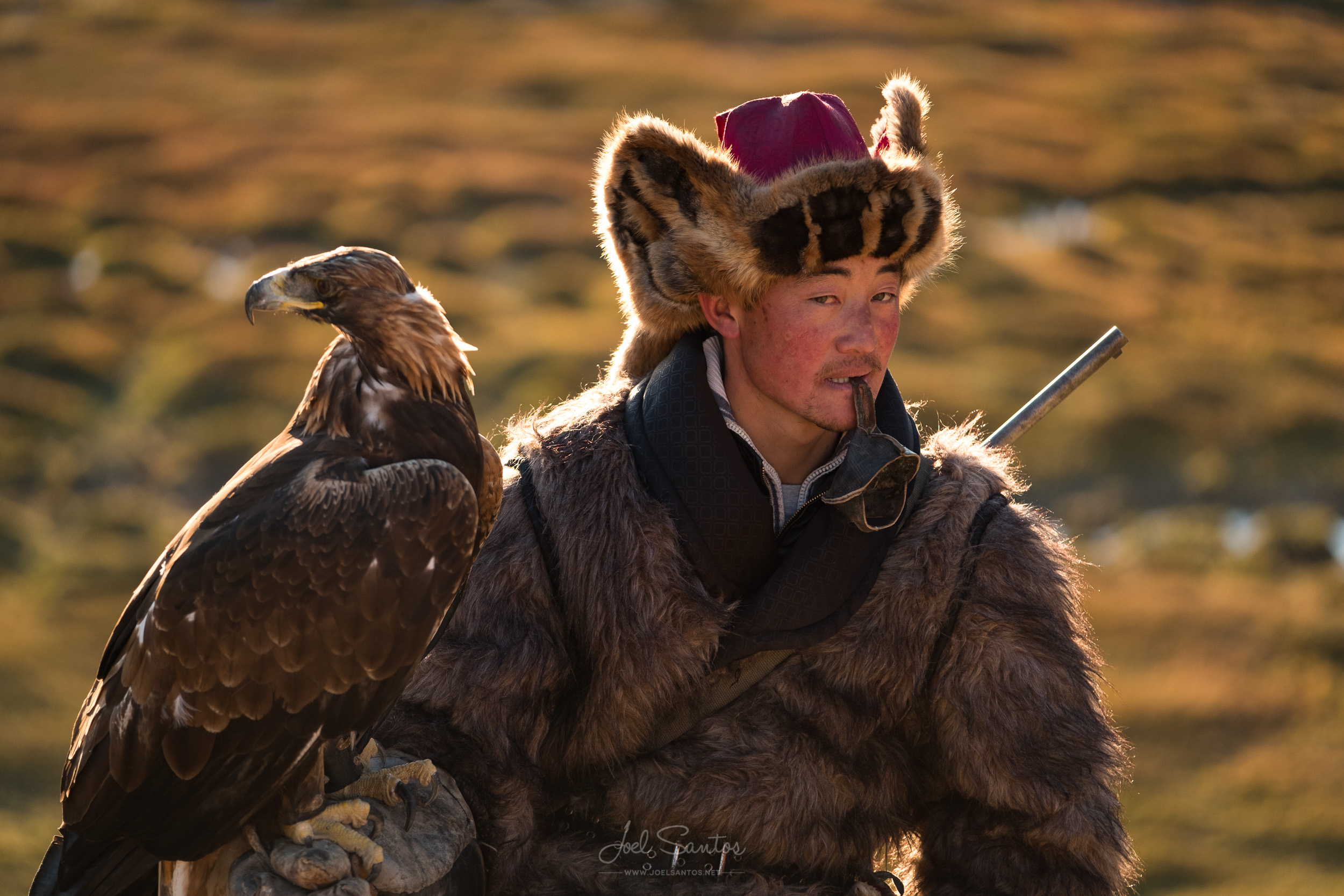 Essen, Eagle Hunter, Altai, Western Mongolia