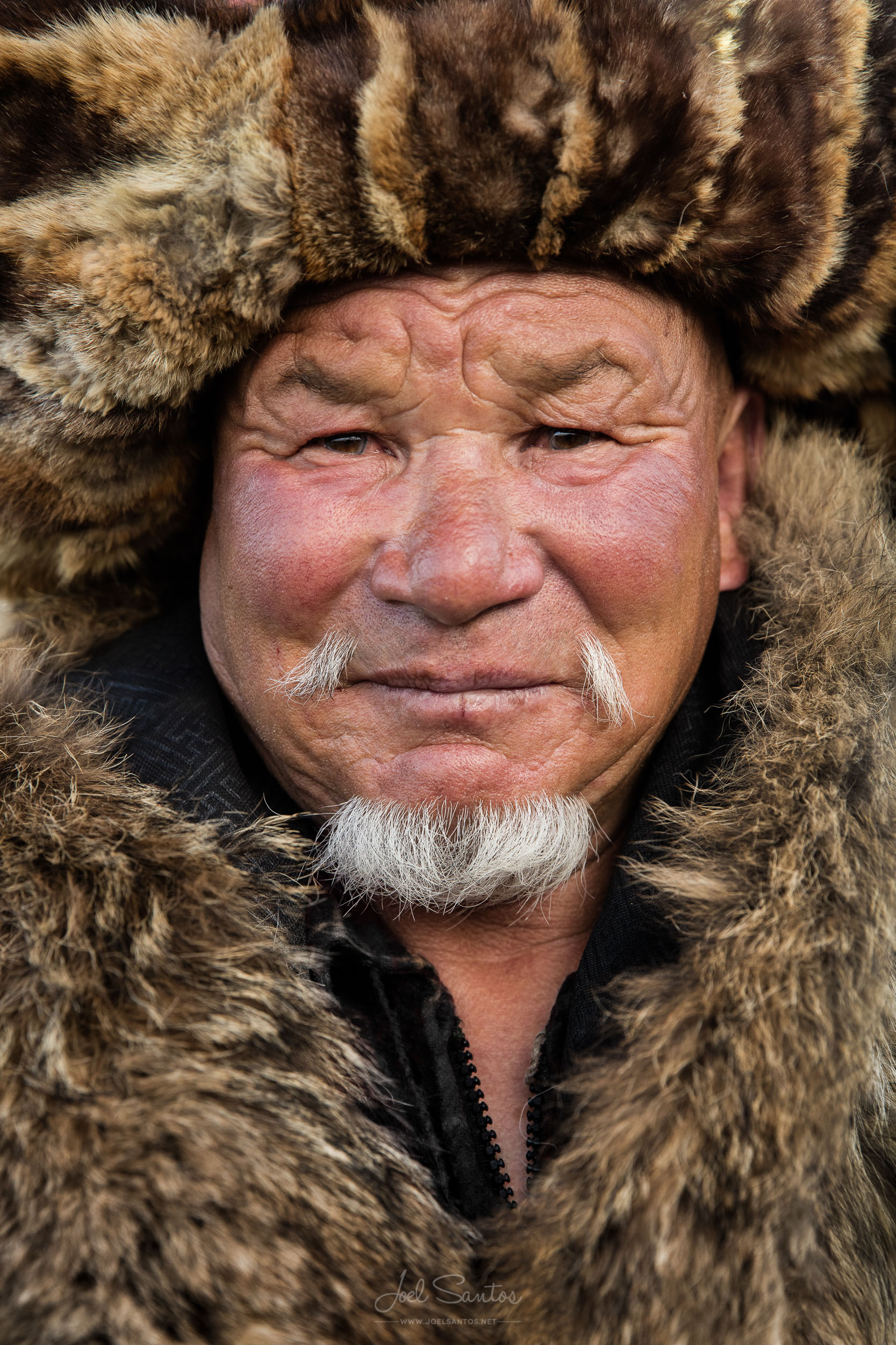 Shokhan's father, former Eagle Hunter, Altai, Western Mongolia