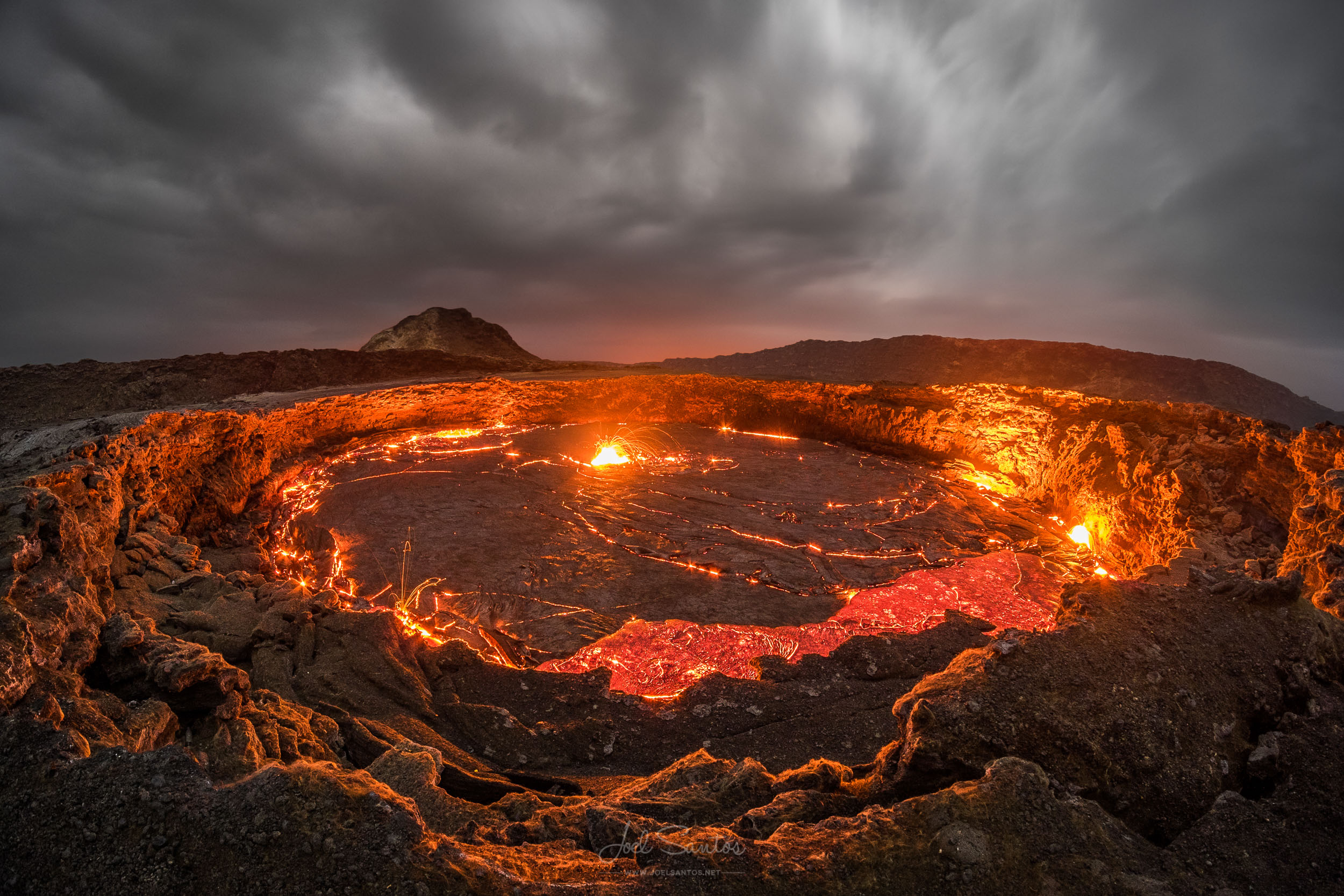 Erta Ale Volcano, Danakil, Ethiopia.