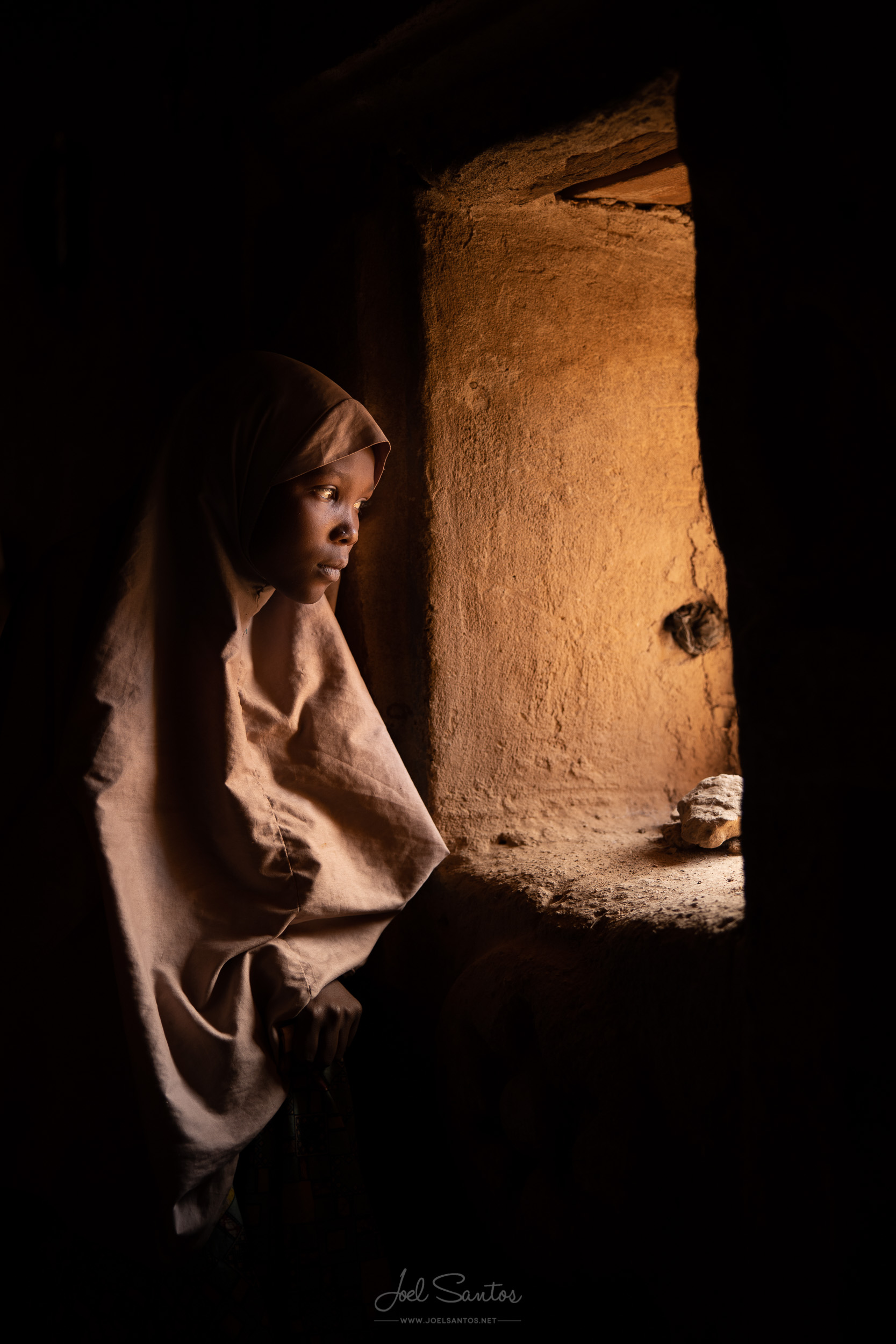 Housa Girl, Agadez, Niger