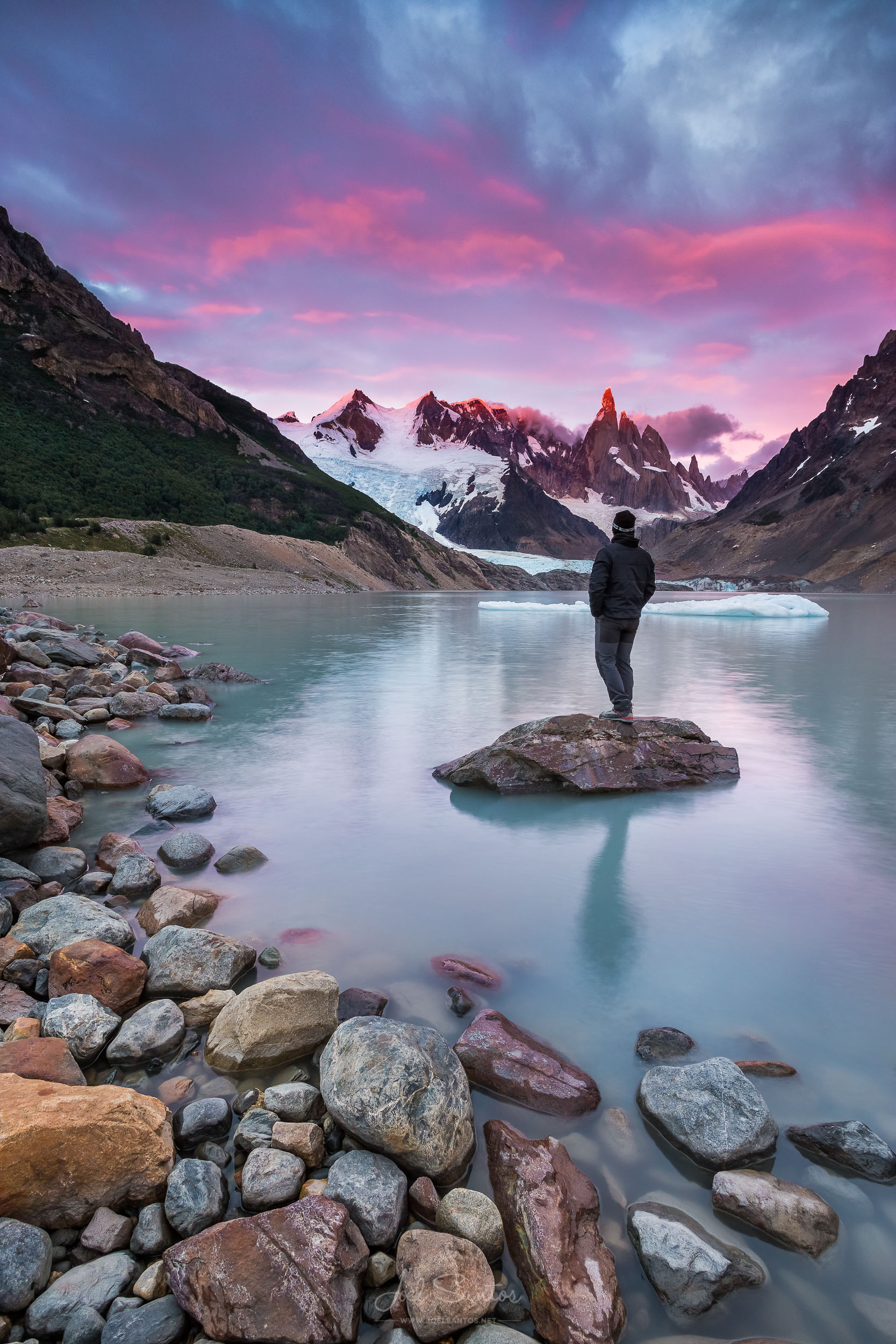 Cerro Torre, Southern Patagonian Ice Field, west of Fitz Roy, Pa