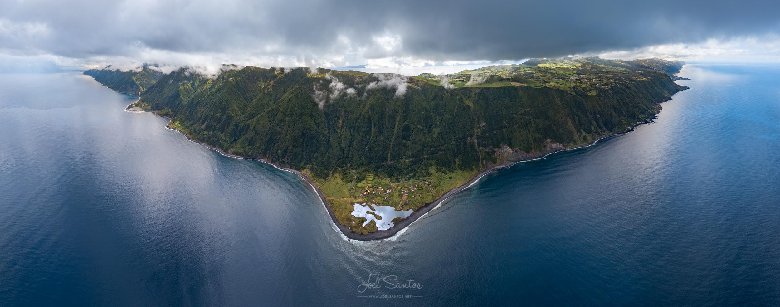 Faja dos Cubres, São Jorge Island, Azores, Portugal
