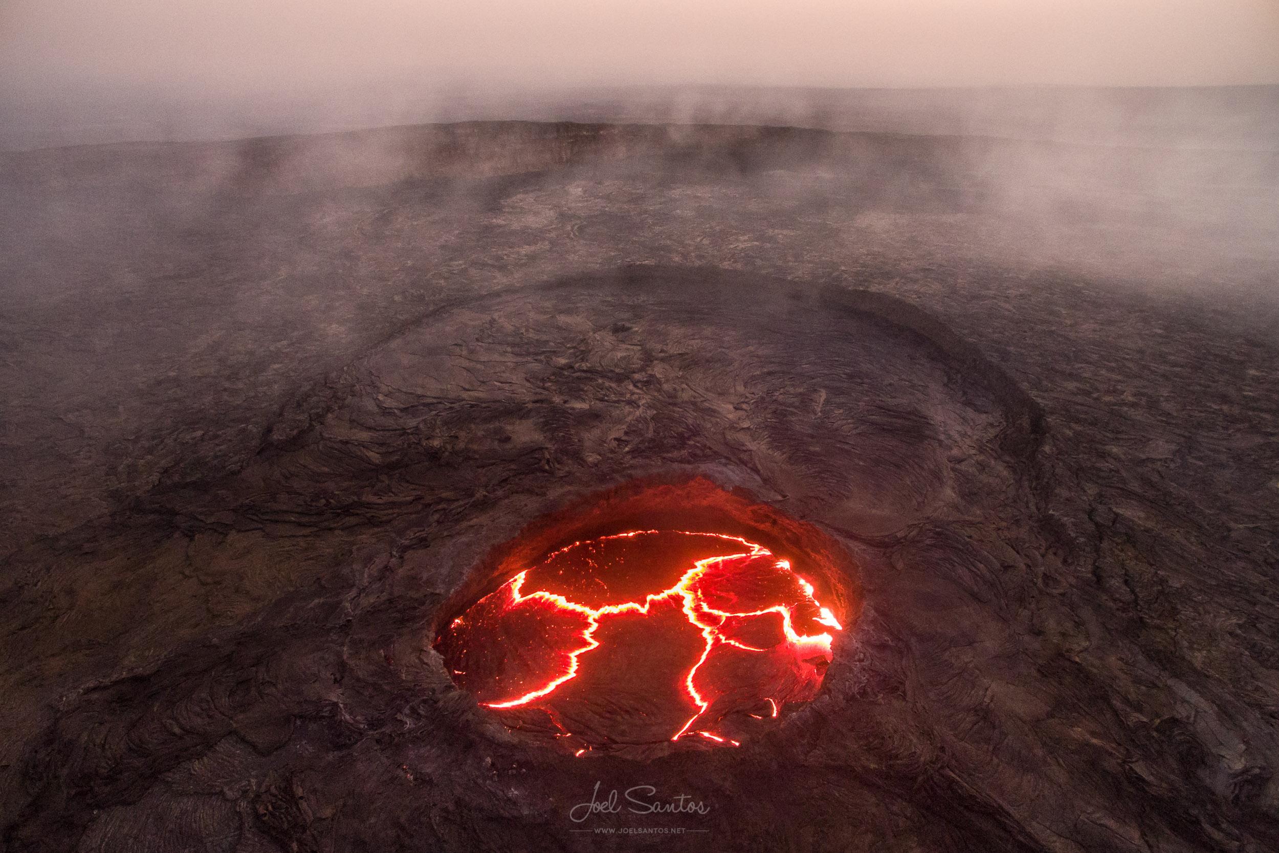 Erta Ale Volcano - Danakil Depression, Ethiopia