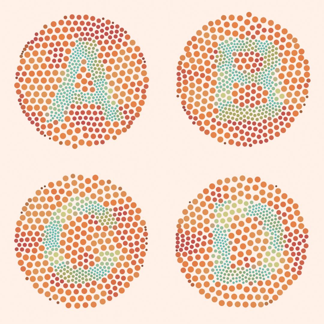 Ishihara Alphabet