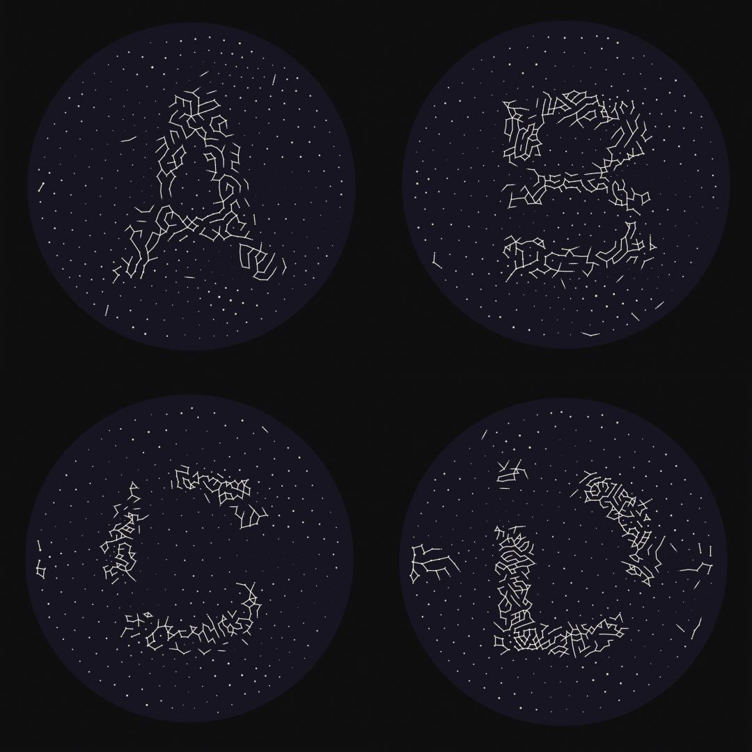 Constellation Alphabet