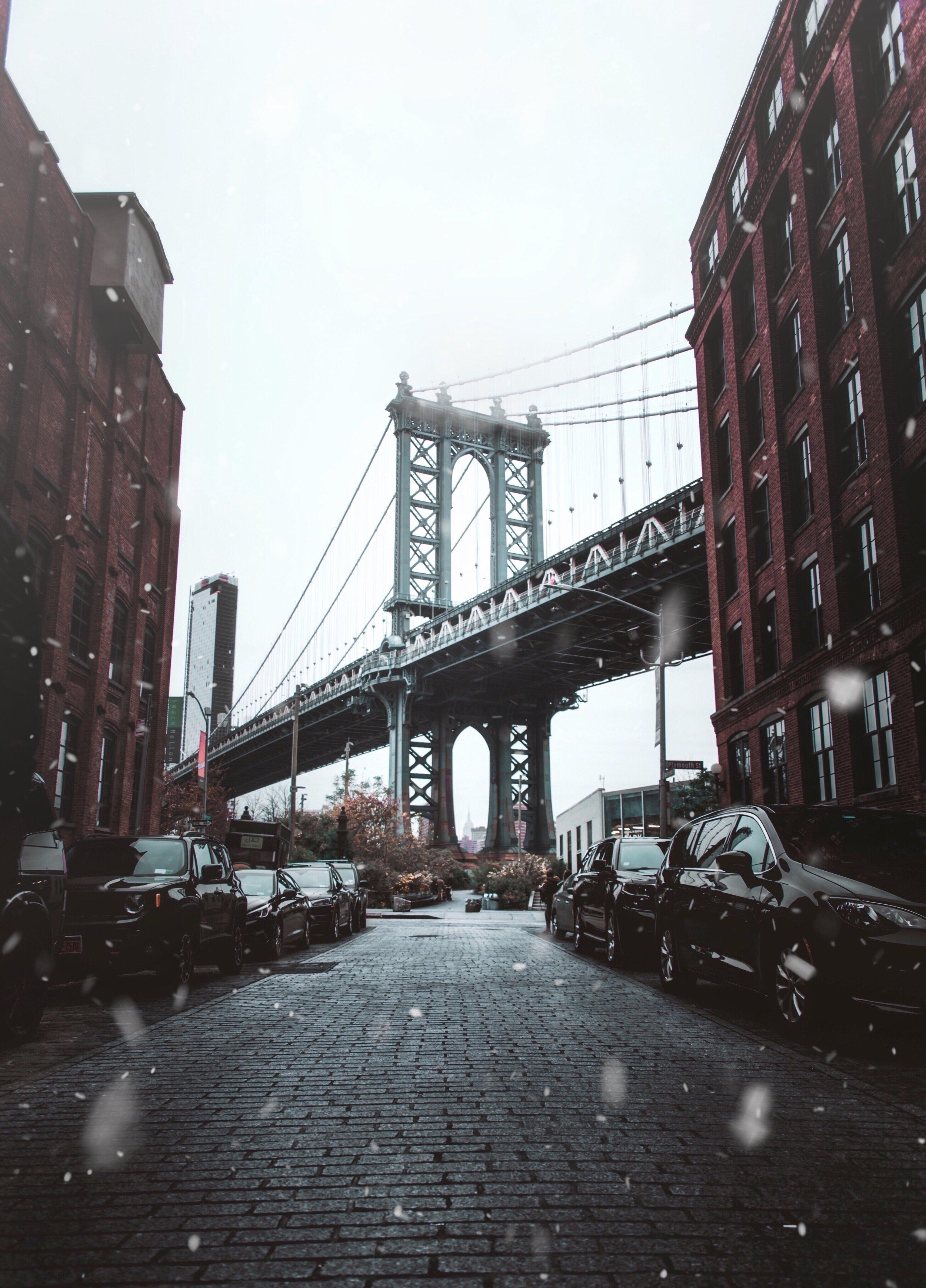 Snowfall in Brooklyn