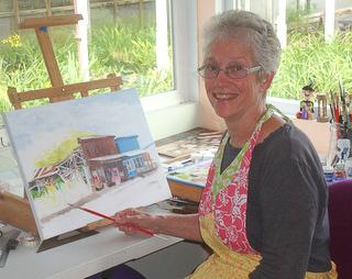 Norma Watt painter Hawaii
