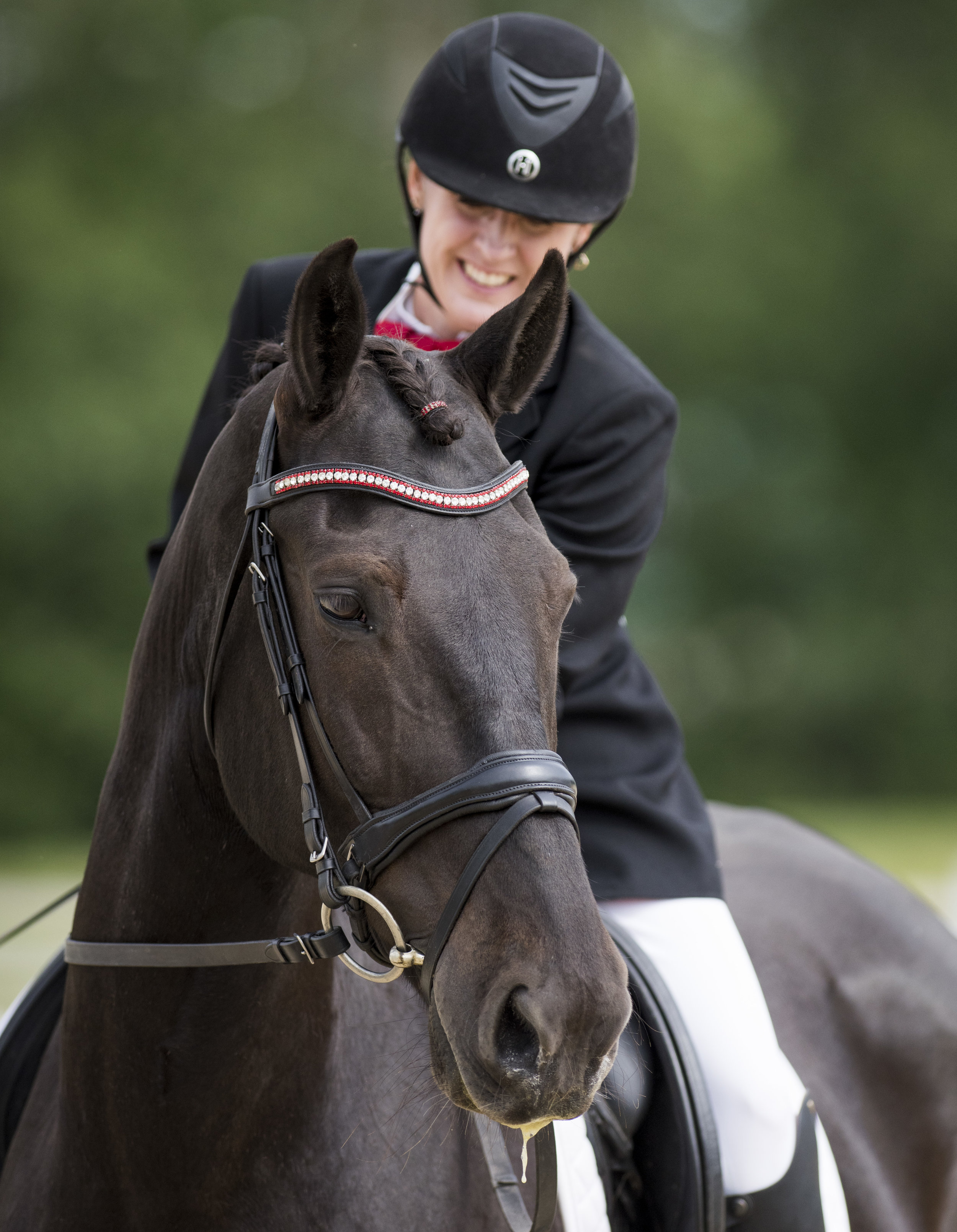 Deirdre Pickerell  and  Evergreen Gyco Montanna.  Photo: Cara Grimshaw