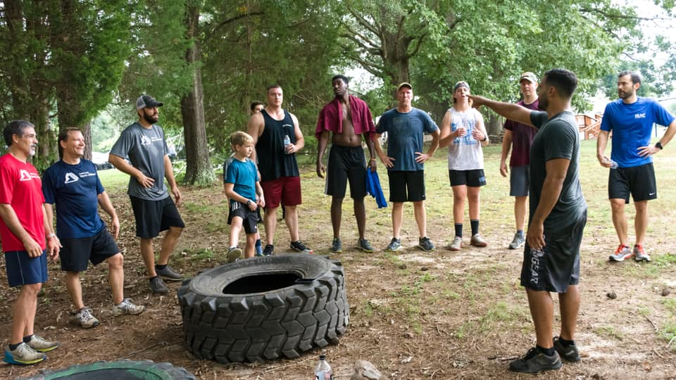 Our workout with Navy SEAL, Chad Williams