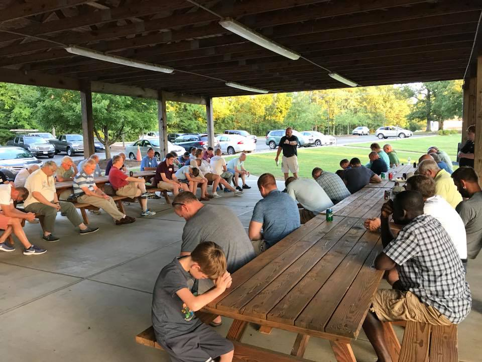 Men's Night with barbecue and guest speaker, Steve Lambert