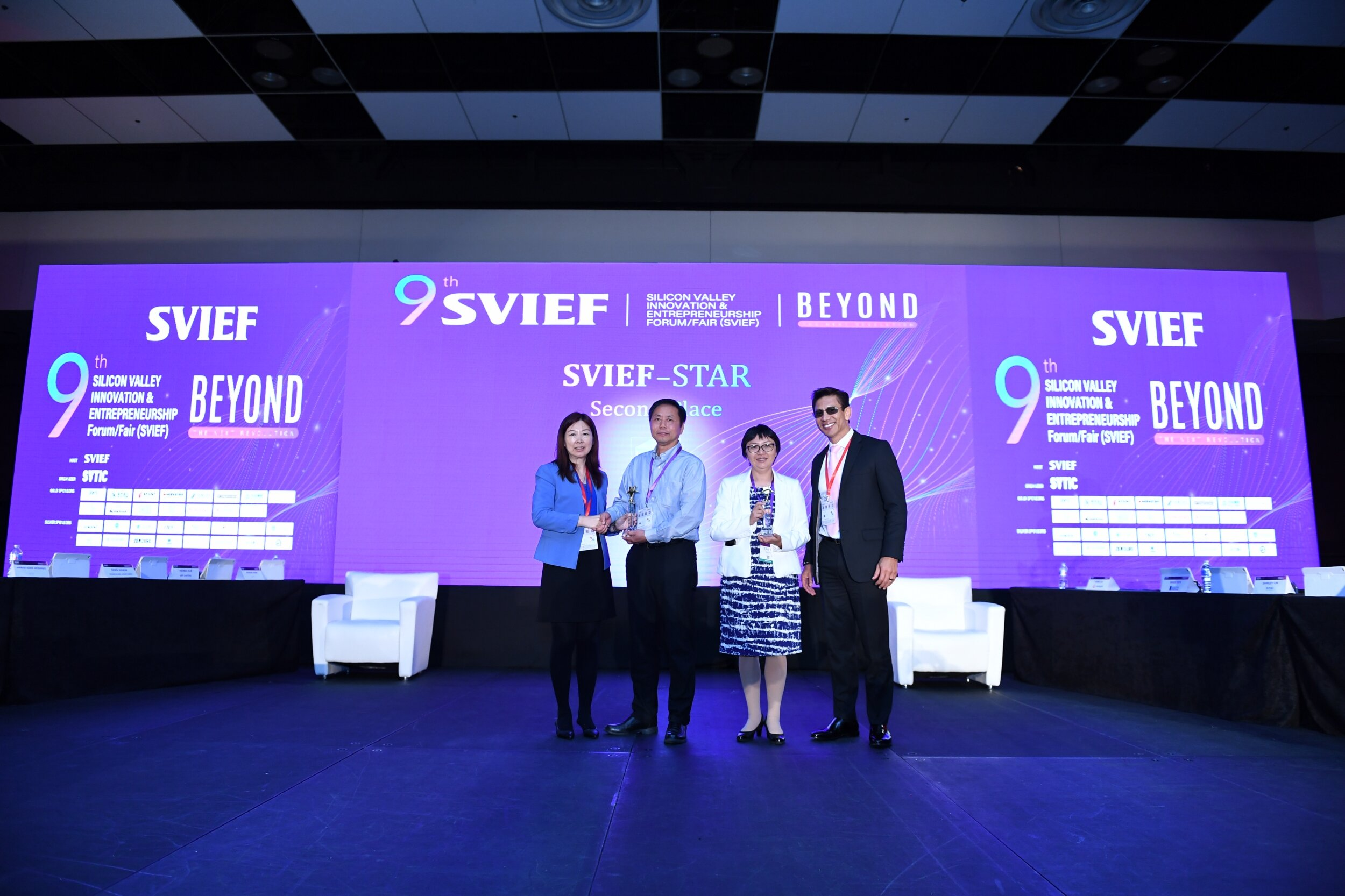 The VisionX team won the 2nd place in the 9th SVIEF-Star startup final competition on Sept.8 at Santa Clara Convention center, CA, USA. The 15 finalists in 2019 were selected from 60+ teams.