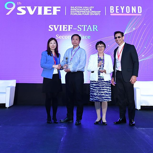 The VisionX team won the 2nd place in the 9th SVIEF-Star startup final competition on Sept.8 at Santa Clara Convention center, CA, USA. The 15 finalists in 2019 were selected from 60+ teams.  The Silicon Valley Innovation & Entrepreneurship Forum (SVIEF) is an international conference designed to foster innovation and promote business partnerships connecting US, Europe, and Asia-Pacific region. It is a leading venue in high-tech industry field, gathering multi-tech and business professionals, as well as providing a platform for the exchange of talent, technology, and capital. The past eight SVIEFs were held annually in Silicon Valley since 2011 fall, attracting more than 5,000 attendees each year. SVIEF-STAR is an investment and innovation platform based in Silicon Valley, with the mission to support the development of startups and venture capitals from all over the world and propels them to register a global impact.  Since 2011, SVIEF-STAR has organized 100+ roadshows . A total of 8 pitch sessions have been held in 2018. Over 1000 quality projects have been selected to pitch during the roadshows and 300+ high profile investors have involved. Most of the projects found funding opportunities through these session.  #VisionX  #aisolutions #big data #artificialintelligence  #aitech #industry40 #machinelearning  #crypto #cryptocurrency #cryptoassets #cryptoinvestor