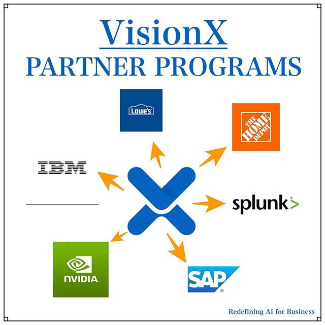 Here's a overview of all the current Partner Programs VisionX is a part of! Being partnered with these top company names will give VisionX access to more resources to grow and expand integrating solutions for artificial intelligence. - -  #VisionX  #aisolutions #bigdata #artificialintelligence  #aitech #industry40 #machinelearning  #crypto #cryptocurrency #cryptoassets #cryptoinvestor