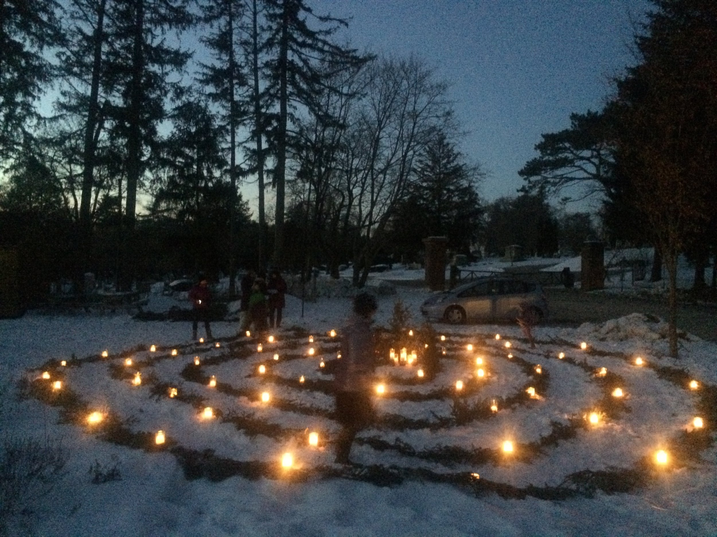 Deering Center Winter Solstice - Gathering on the darkest day to welcome in the light