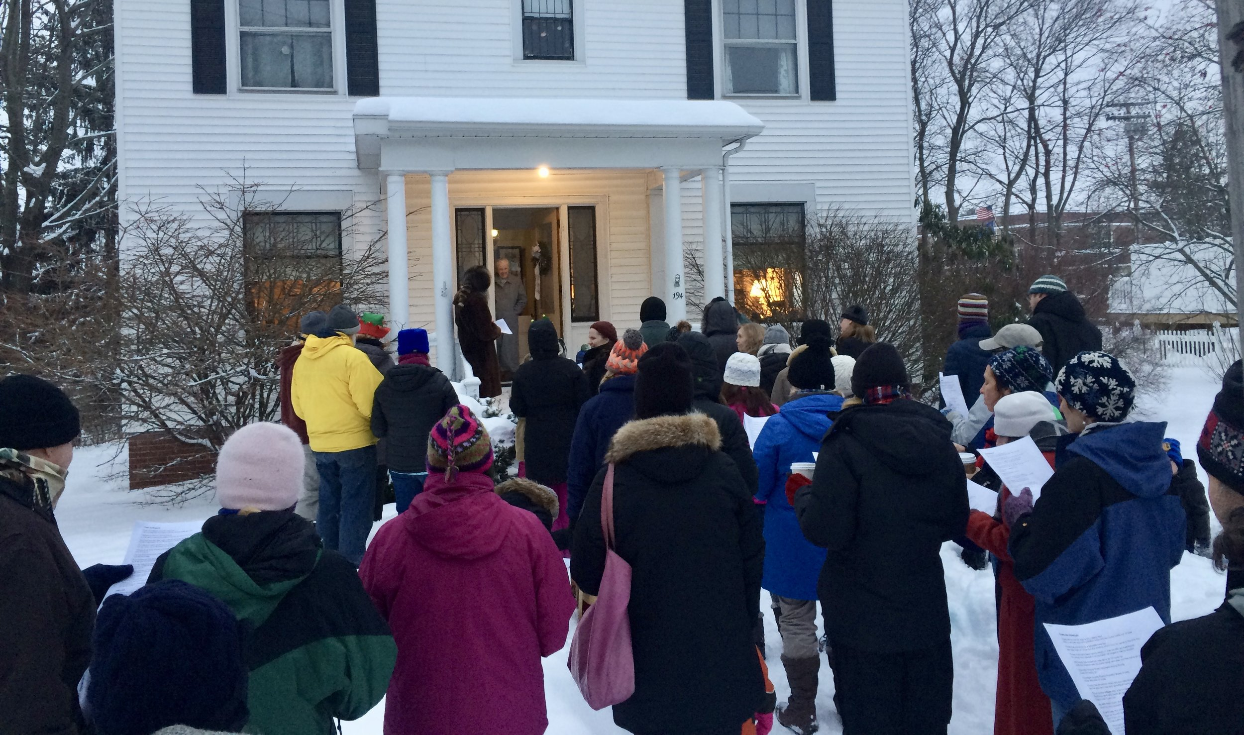 Neighborhood Holiday Caroling - What better way to ring in the holidays than walking & singing for neighbors!