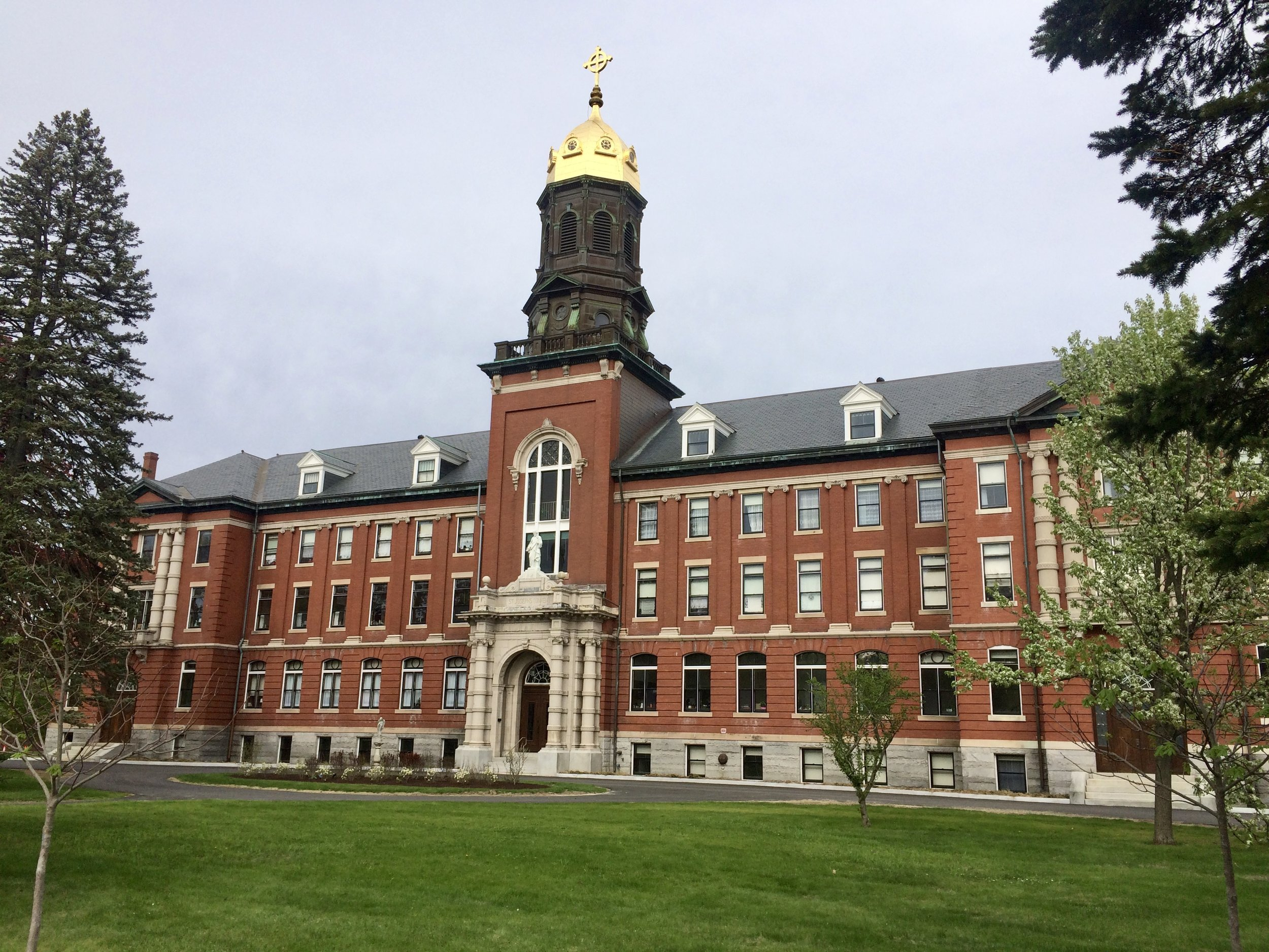 St. Joseph's Convent - the Motherhouse, and the former McAuley High School, 605 Stevens Avenue - No longer education facilities, they had a long history in education on Stevens Avenue and leave behind a magnificent legacy.