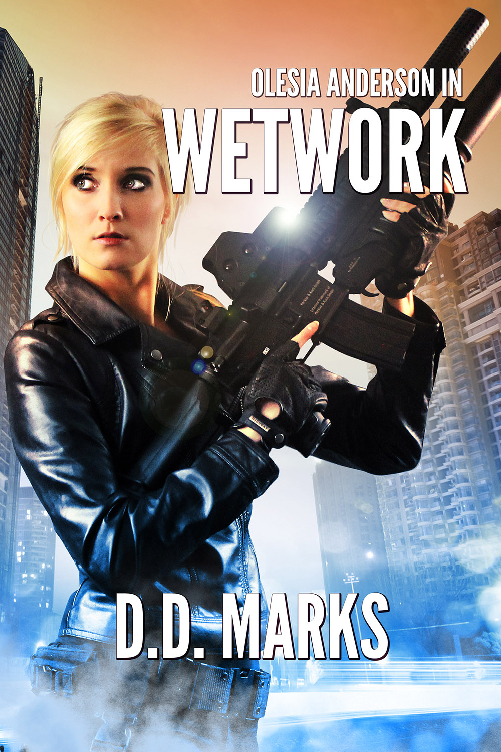 Link to Olesia Anderson 8: Wetwork by Christopher Ruz writing as D.D Marks