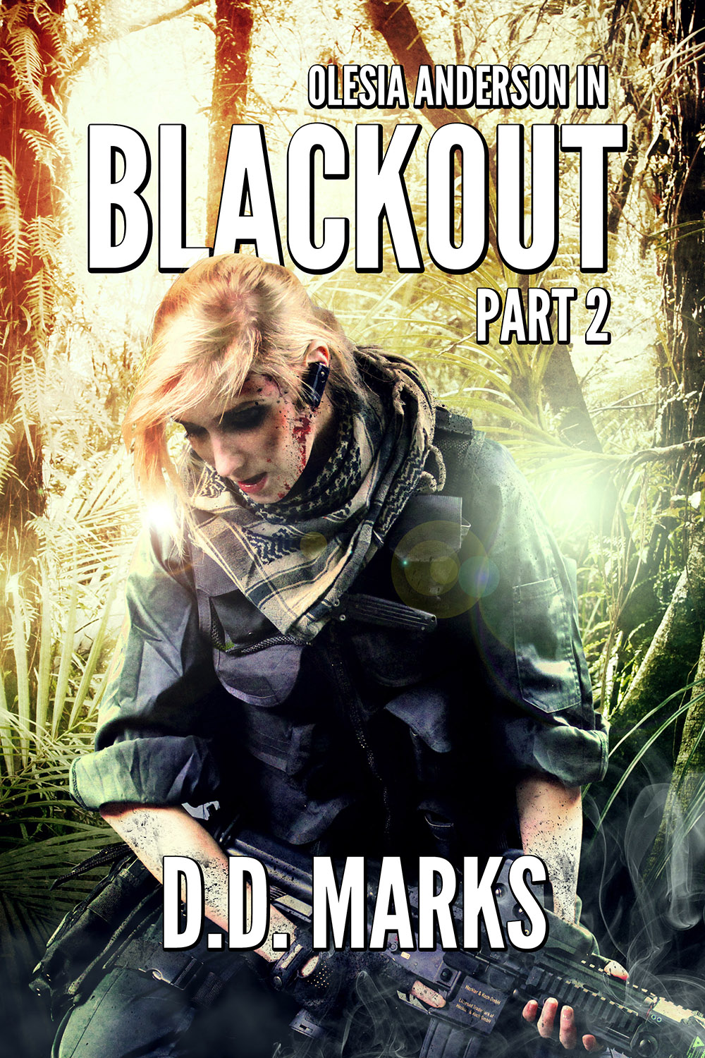 Cover art for Olesia Anderson 7: Blackout Part 2