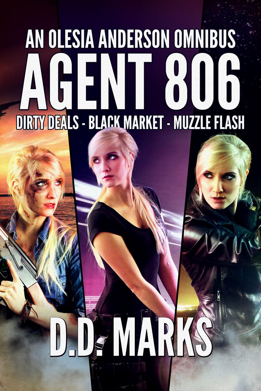 Cover art for Olesia Anderson Omnibus 1, Agent 806