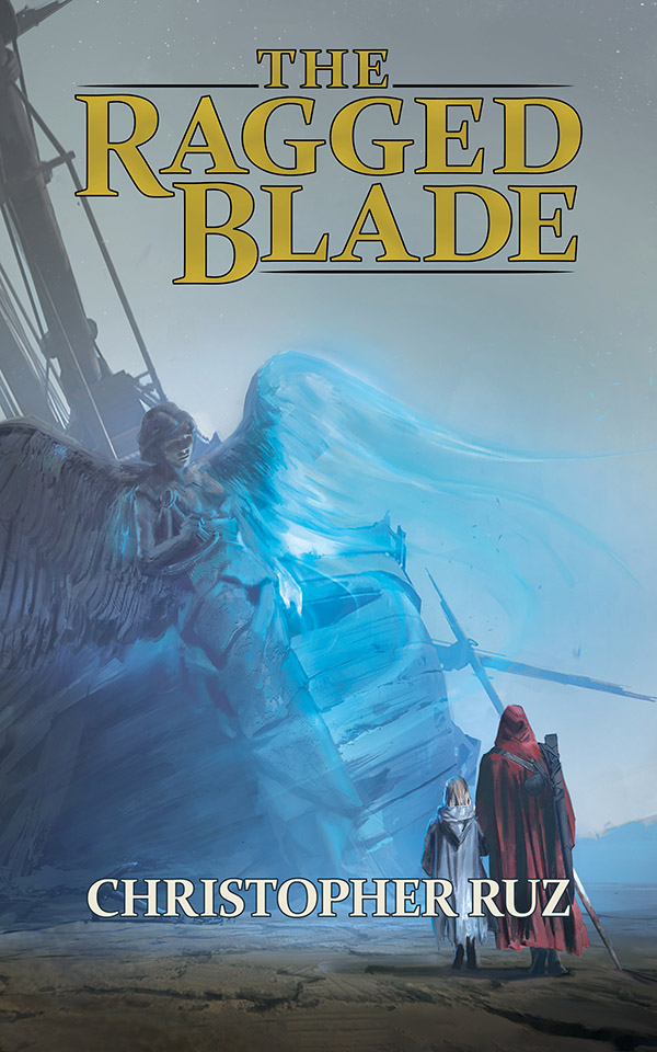 Cover art for Century of Sand Book 1: The Ragged Blade