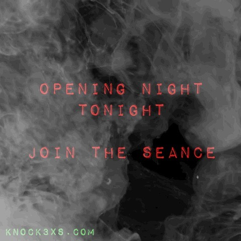 The seance officially opens at 7pm tonight. Will you knock three times? • The Cooping Theory 1969 is the only of its kind immersive theatrical experience in Times Square — **limited to 60 tickets for a time only** link in bio