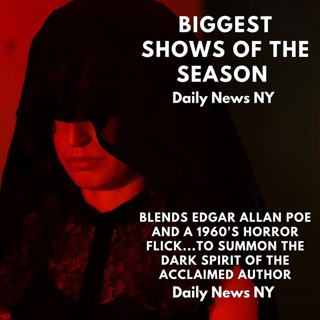 The only thing more thrilling than ❤️ from the @nydailynews is what we have in store for you when you Join The Party & Submit to the Seance. Only 5 Weeks remain. Tix in Bio. 📸 @mikhailgallo . . . . . #seance #halloween #haunted #immersive #horror #movie #experience  #limitededition #nyc #edgarallanpoe #TheCoopingTheory1969 #joinus