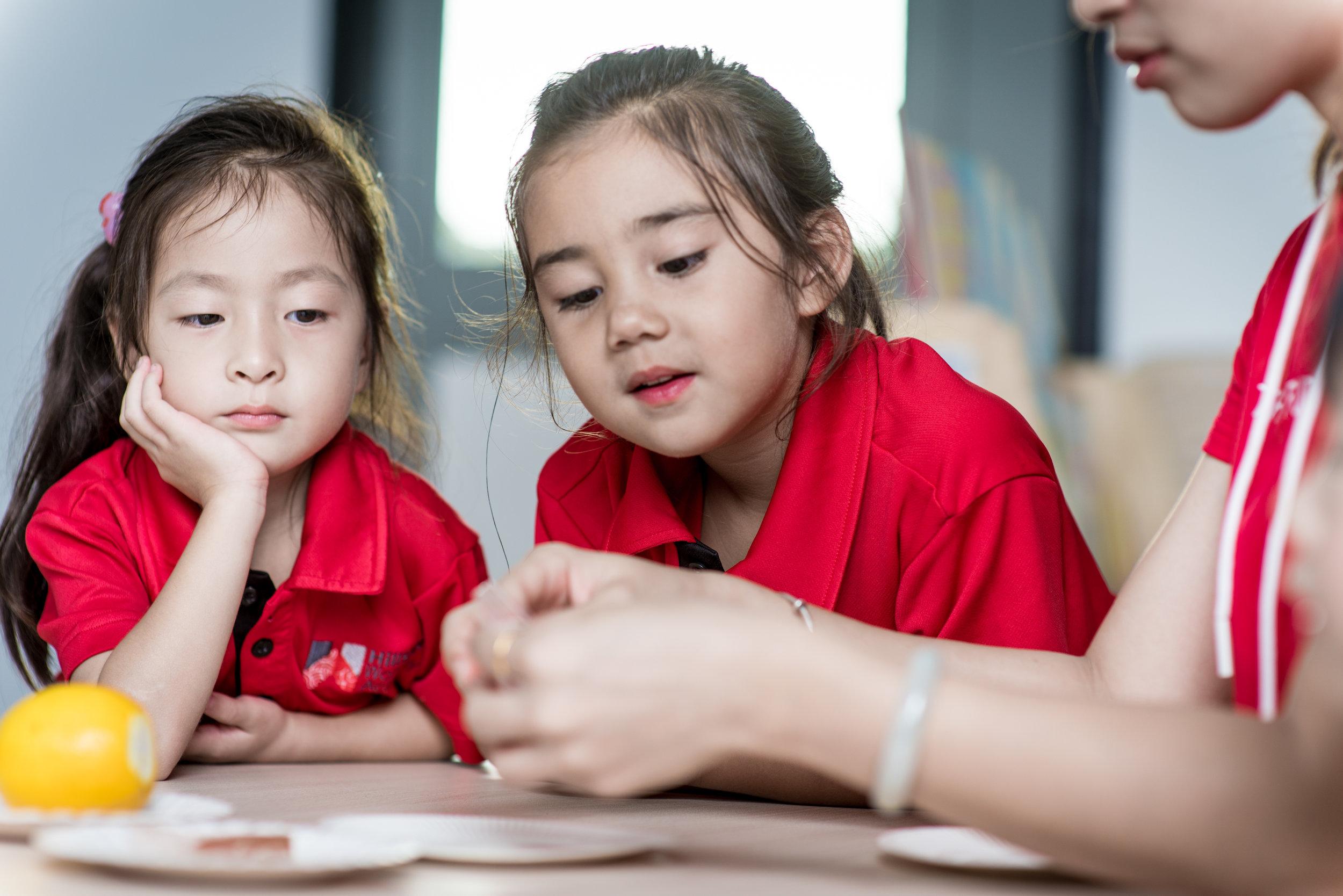KINDERGARTEN - Nurturing caring and thinking future global leaders