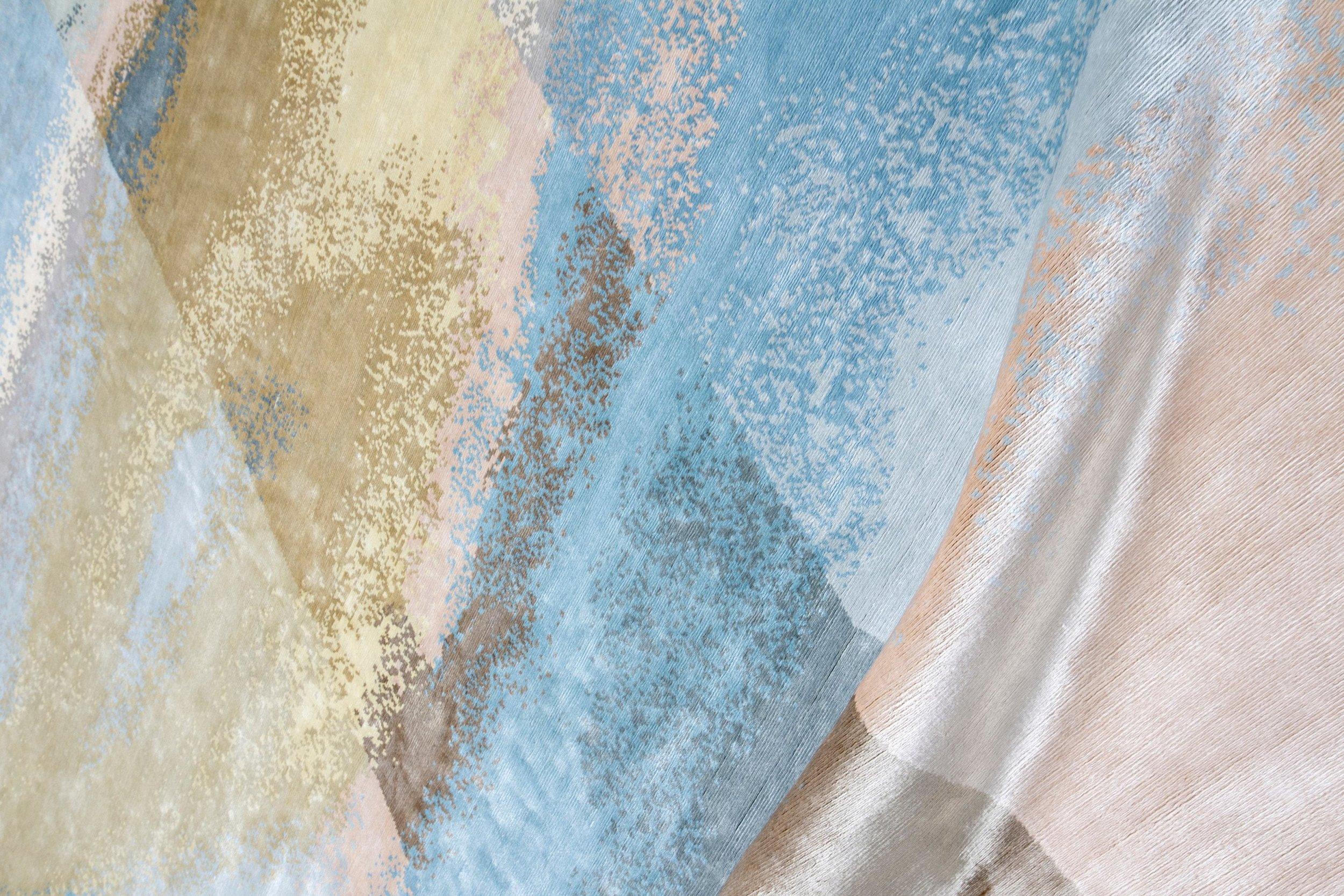 EDITION BOUGAINVILLE selyem szőnyeg ARAL SUNRISE
