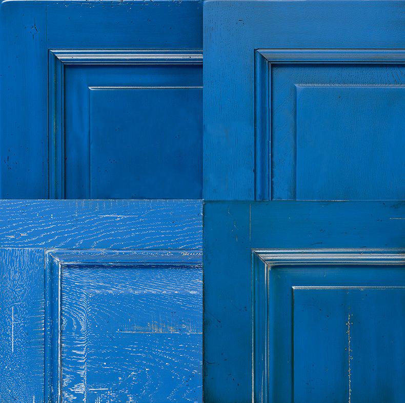 Grange KÉK - A magyar színszótárban 128 kéket találni. A Grange kékje nekünk a zafír kék, a jácintkék papagáj és a bizánci kék- hez áll a legközelebb . A különböző fafelületen (tölgy - cseresznye) más és más árnyalatban él ez a tündöklő szín. Meghökkentő hatást érhetsz el, ha a bútor belsejét elütő színben rendeled meg!Merj színeket használni!