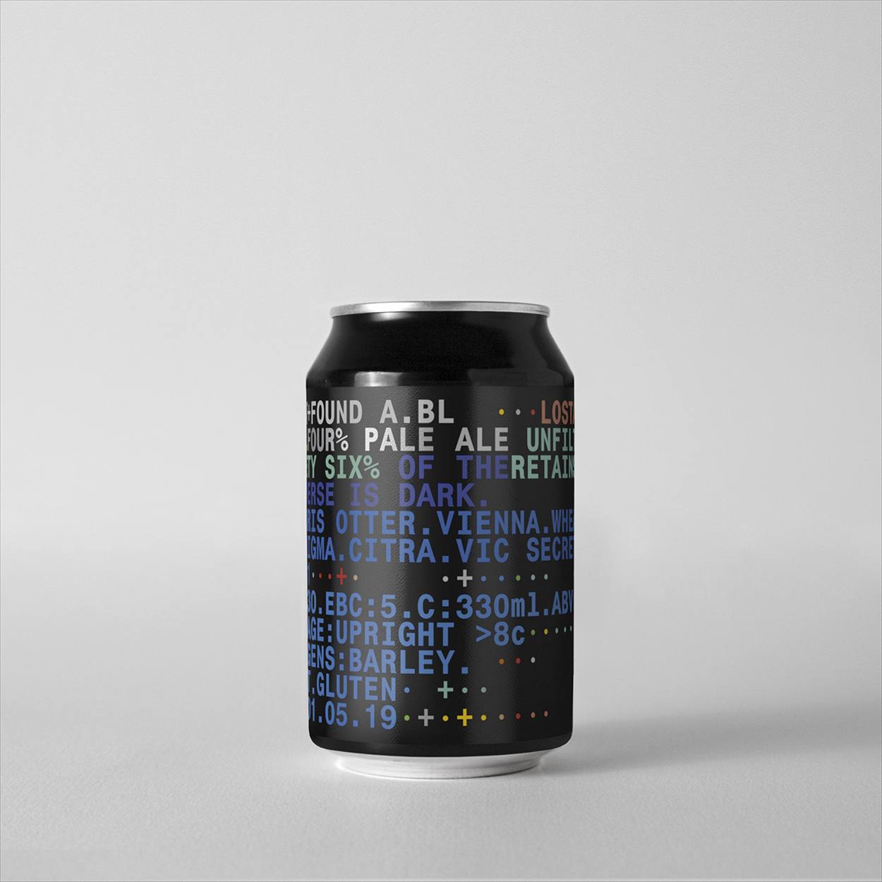 R31. 96% of the universe is dark. FOUR% Pale Ale.