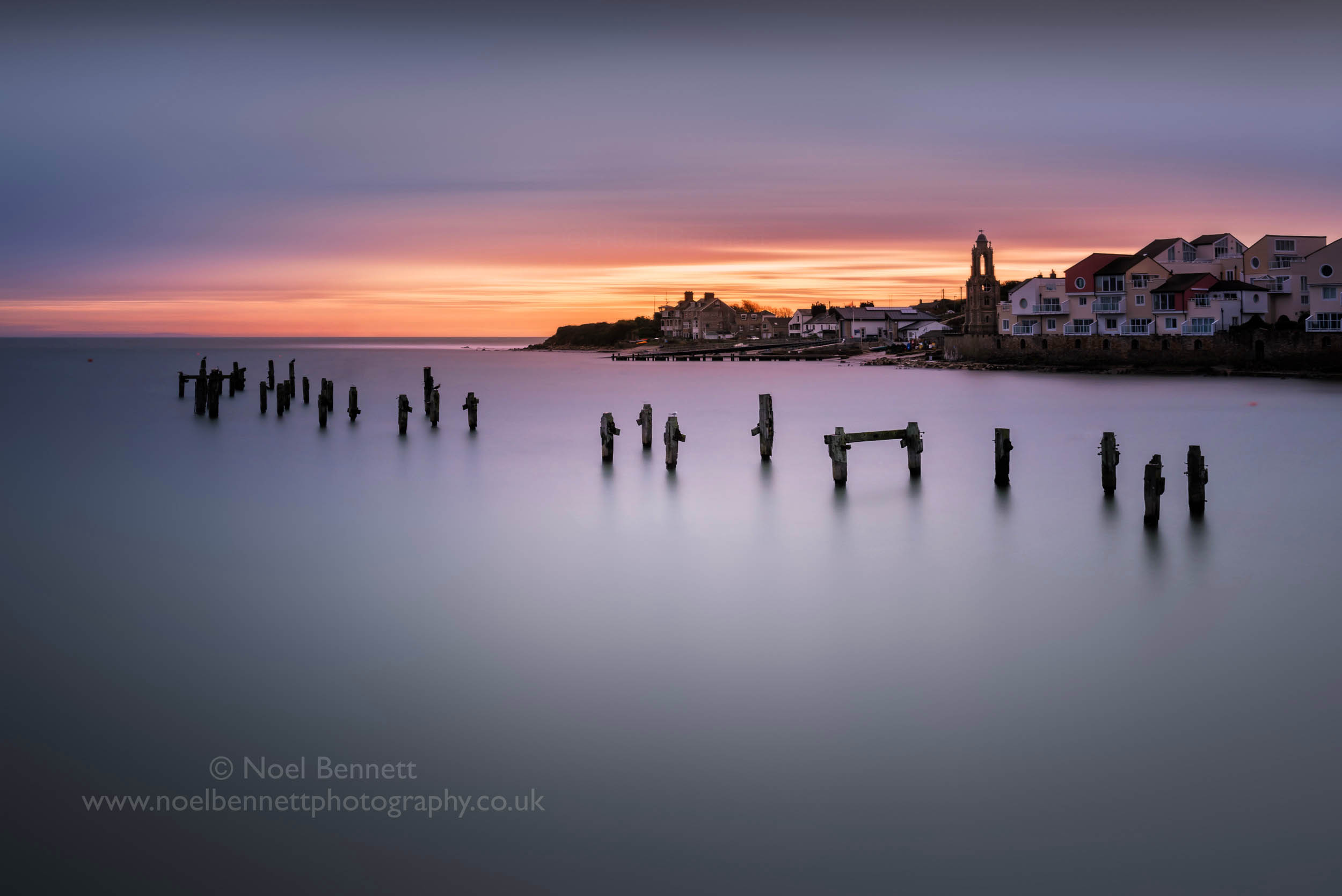 Dawn at Peveril Point