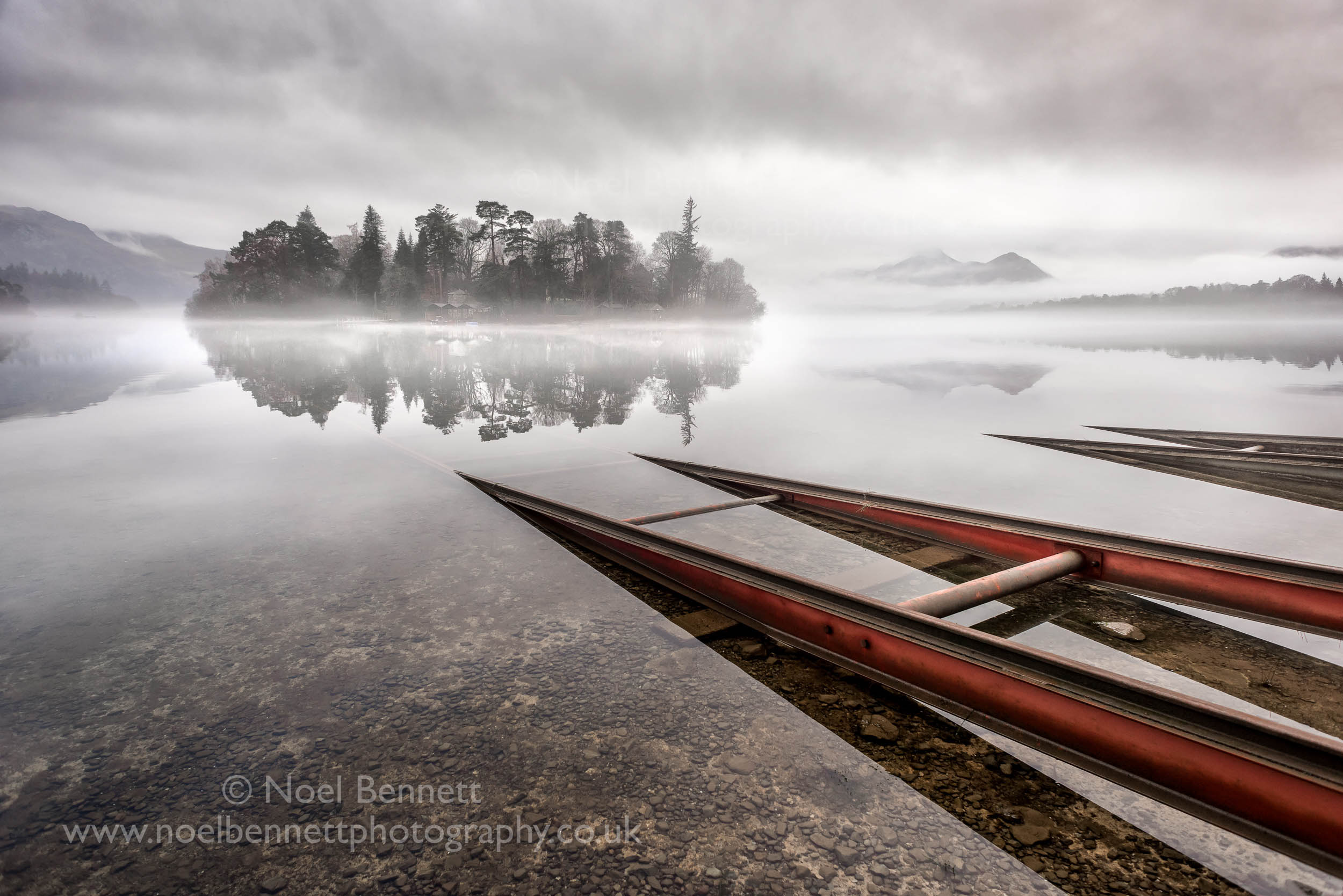 Slipway Into The Mist