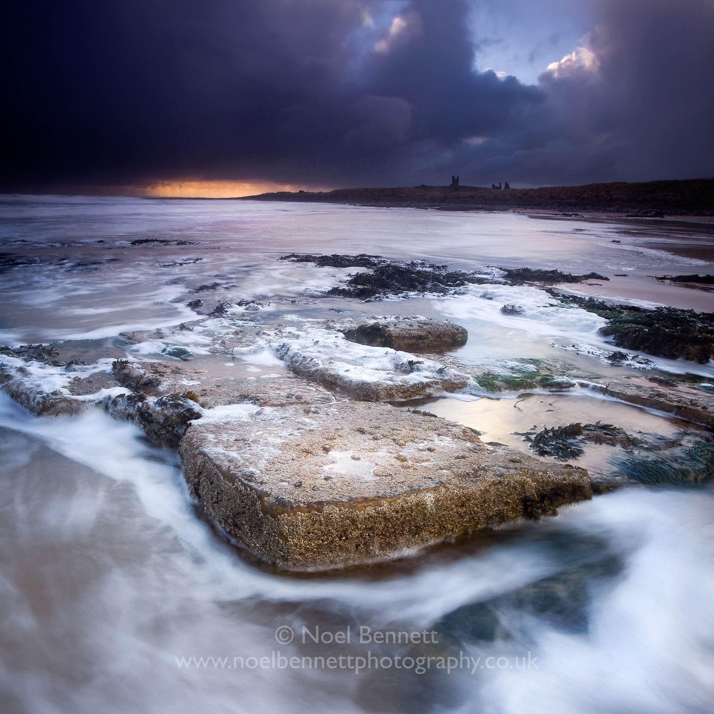 Storm Over Dunstanburgh
