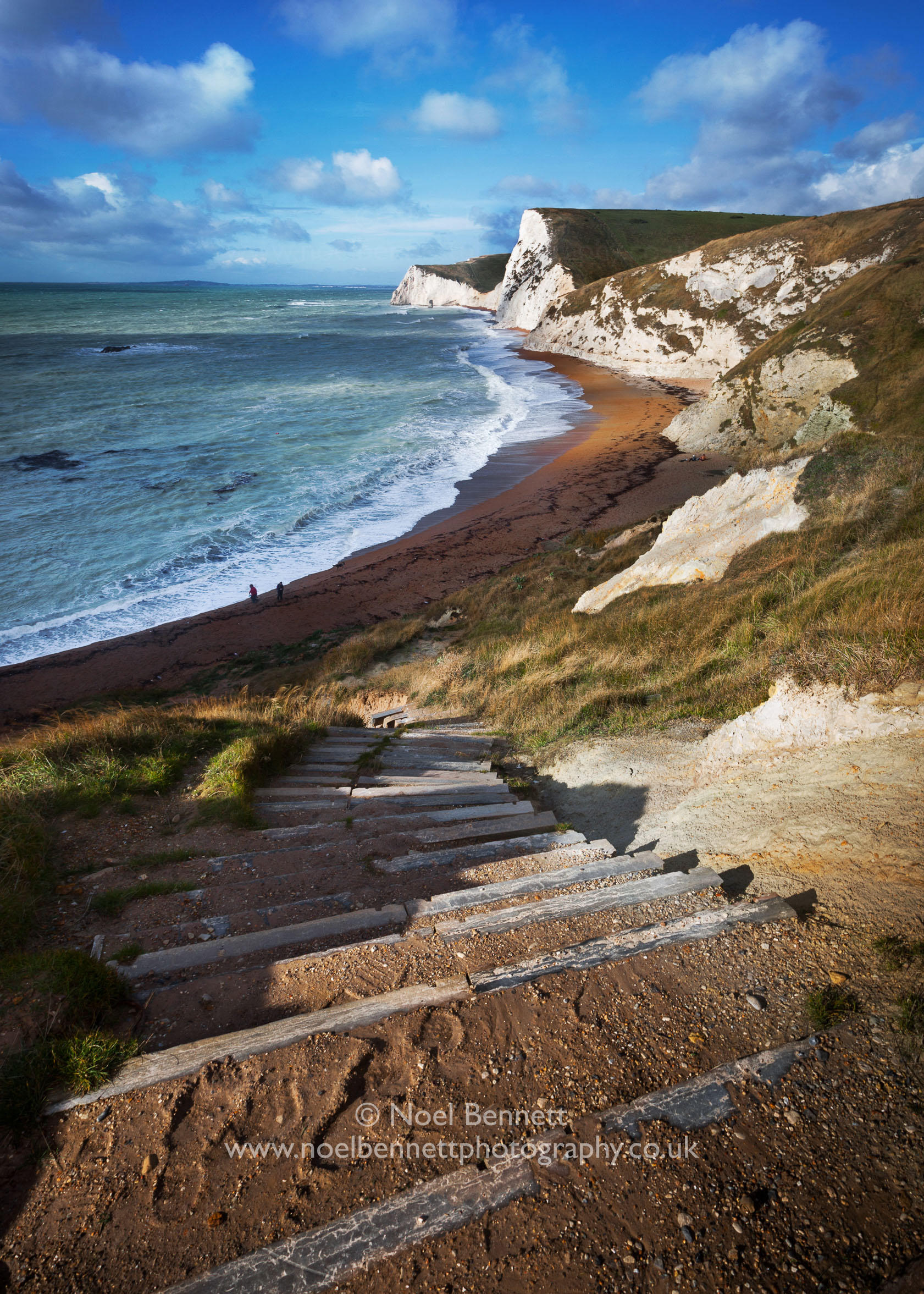Staircase To Durdle Door