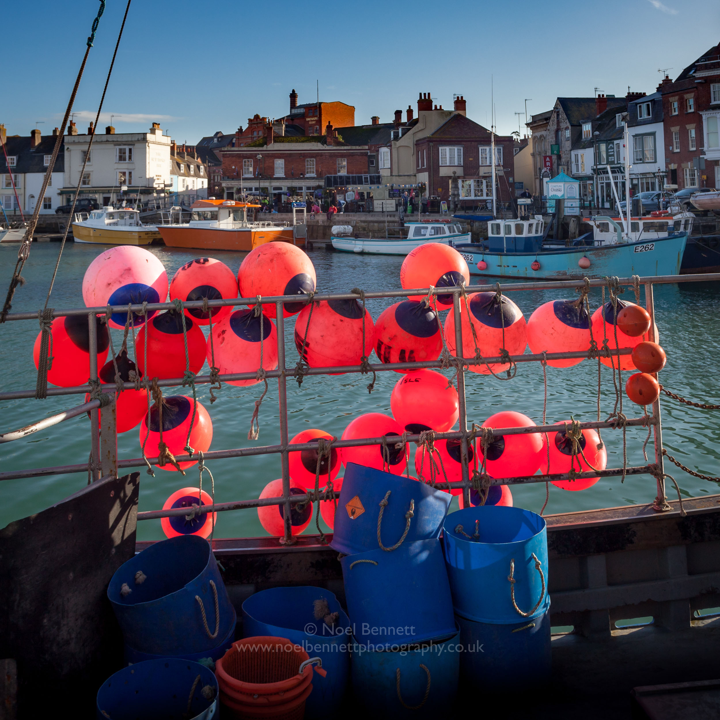 Bouys At Weymouth