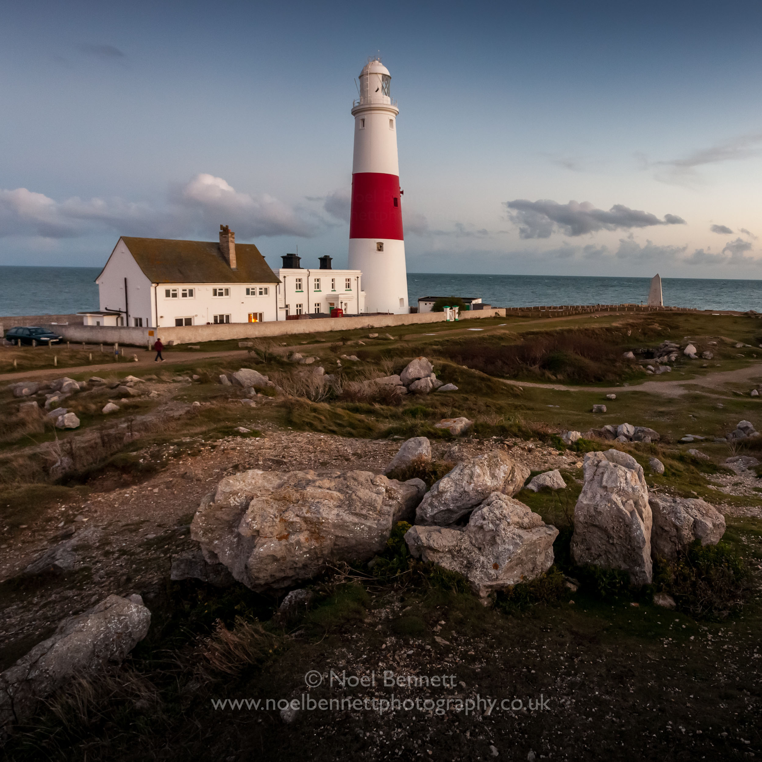 Evening light At Portland Bill