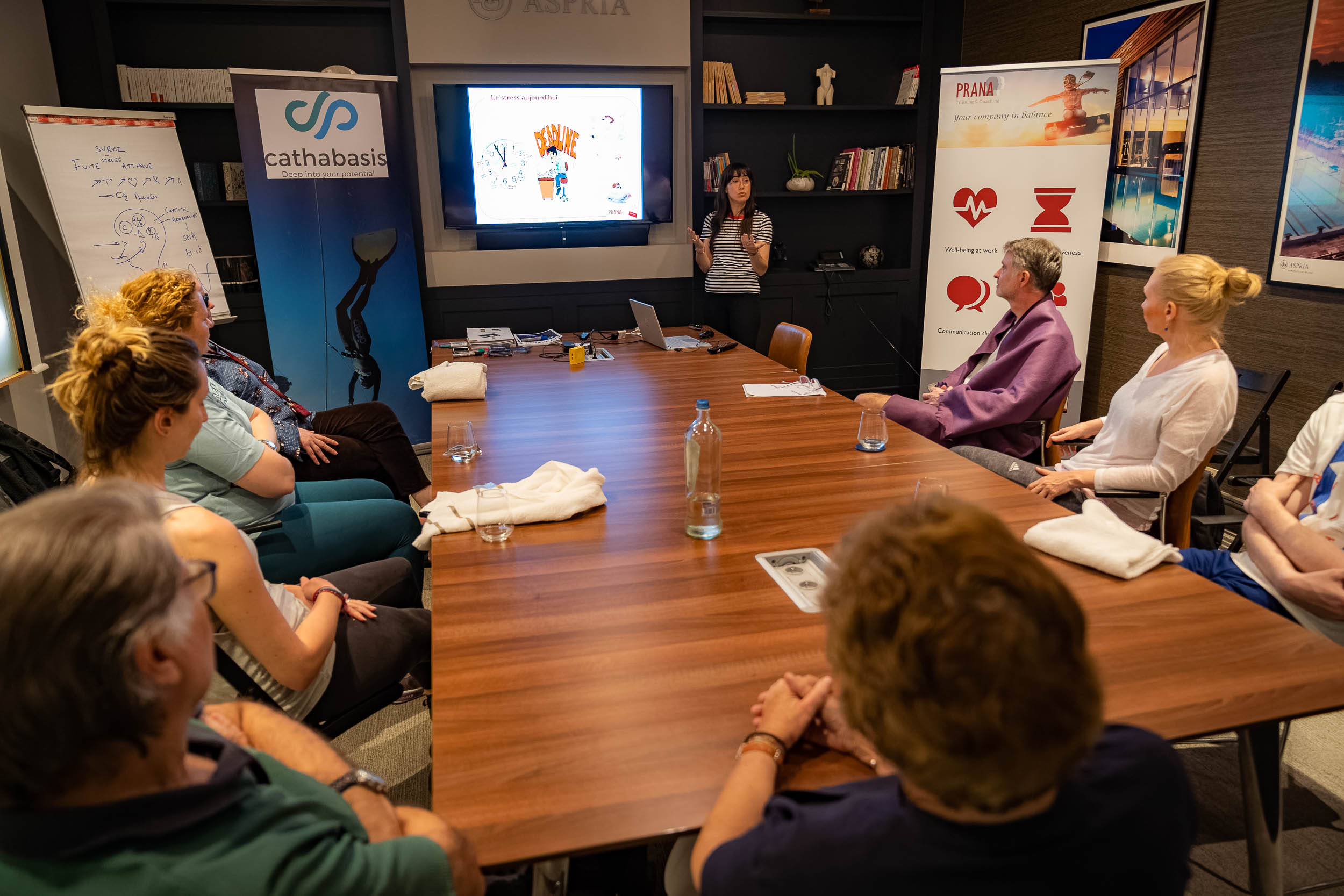 Photo d'un séminaire en entreprise à Bruxelles