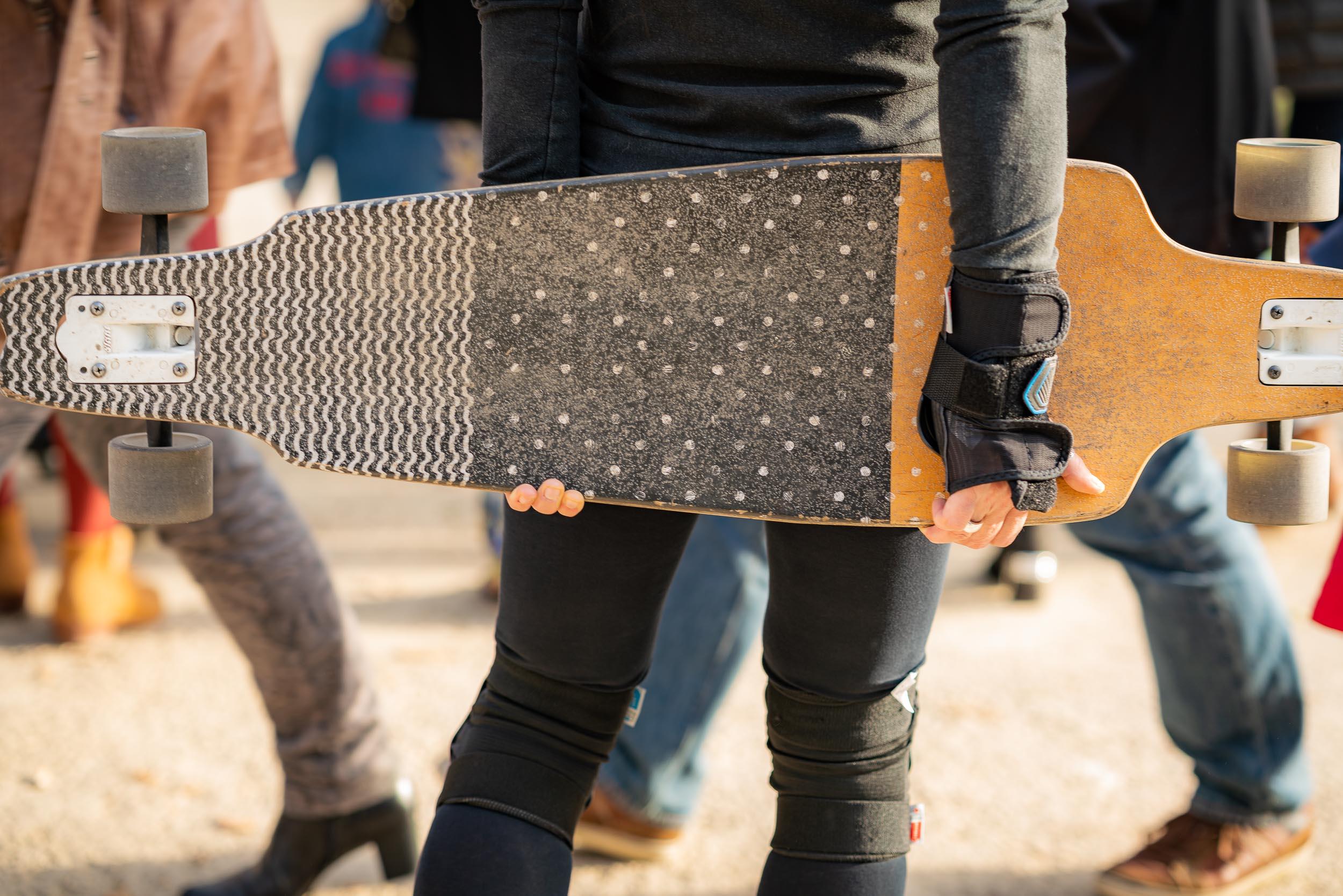 Photographie d'un évenement Skate dans le Bois de la Cambre