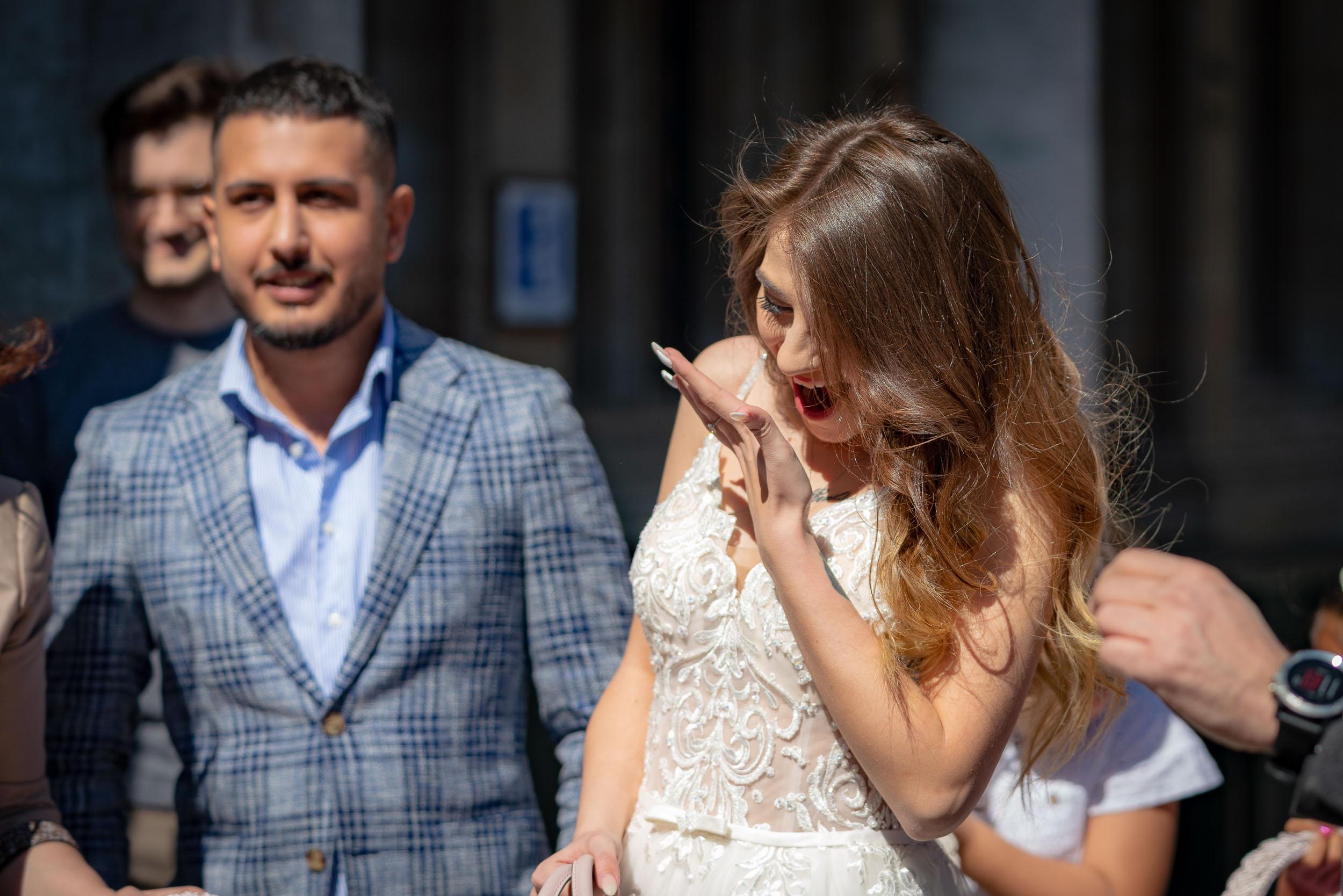 Photo d'un mariage civil à Bruxelles réalisée par un photogra