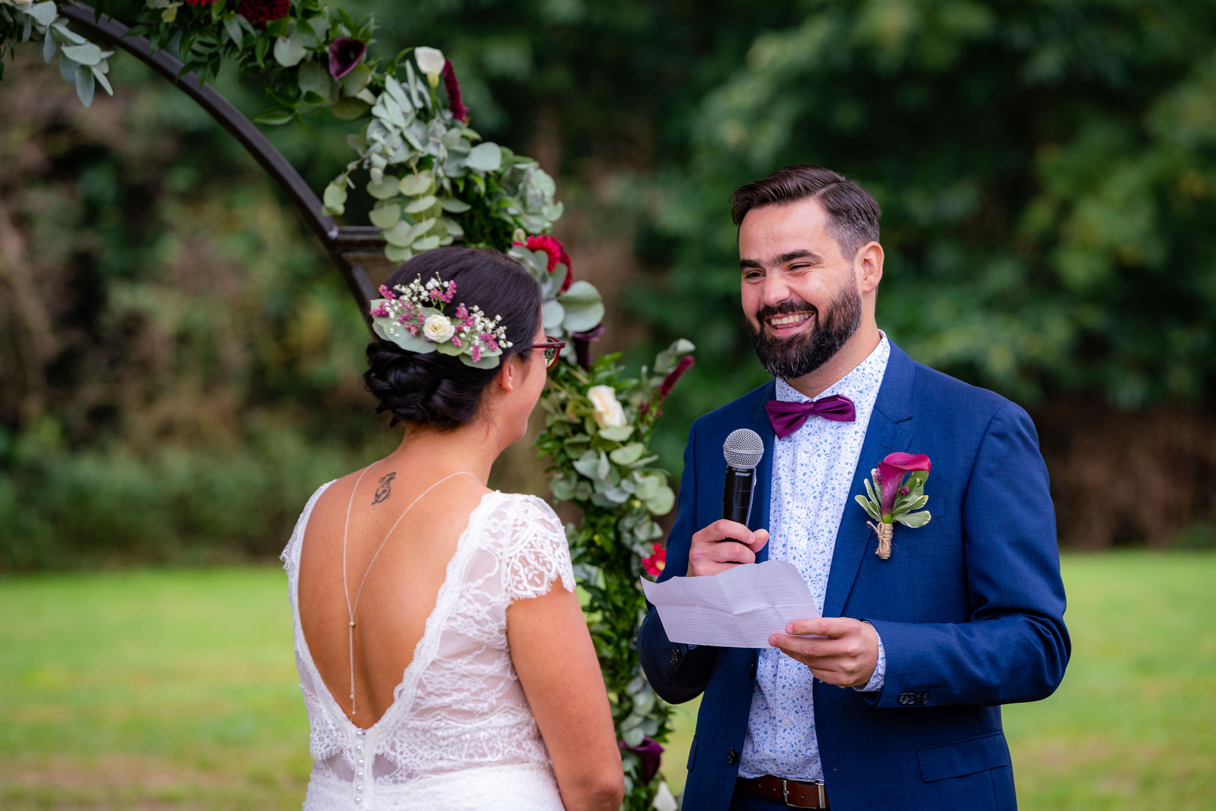 Photographie de mariage dans le Brabant près de Bruxelles