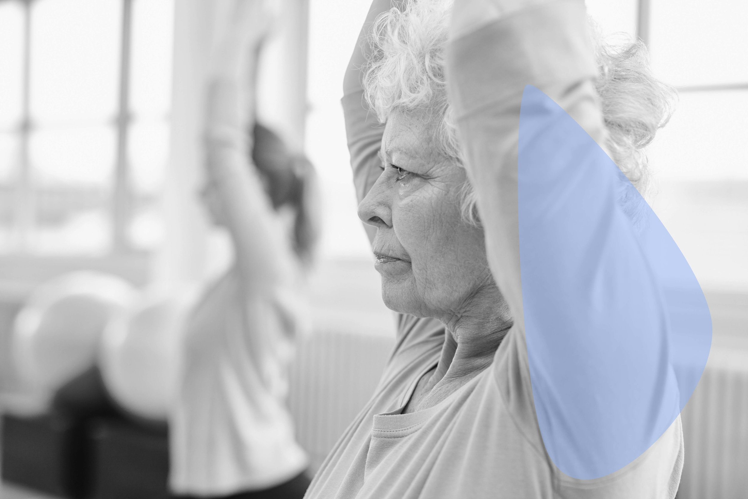 Senior Yogi at Bobble Yoga