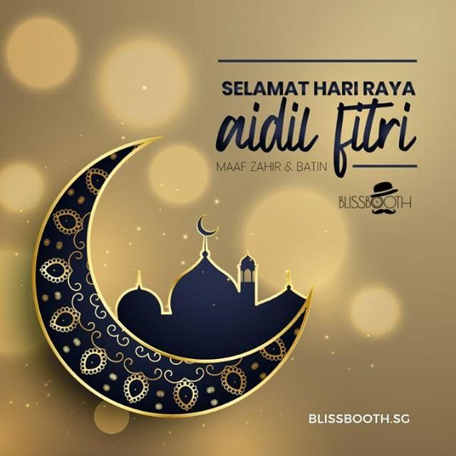 Selamat Hari Raya Aidil Fitri to all our Muslim friends, and a happy holiday to everyone.⠀ ⠀ Maaf Zahir & Batin⠀ ⠀ Spend this day to unwind, recharge and re-energise with your loved ones. ⠀ ⠀ #BlissboothSG will be celebrating Hari Raya until 9 June 2019. We'll be back on 10th June to continue entertaining your events!⠀ ⠀ Love,⠀ Team Blissbooth⠀ ⠀ ⠀ ⠀ This is #Eid⠀ .⠀ .⠀ .⠀ .⠀ .⠀ #belovedstories #weddingphotoinspiration #weddinginspo #weddingwire #greenweddingshoes #junebugweddings #dreamwedding #instawed #photobugcommunity #huffpostido #summerwedding #mywedding #thedailywedding #intimatewedding #heyheyhellomay #smpweddings #aisleperfect #weddingforward #adventurouswedding #singaporeinsiders #kahwinsingapura #pengantinsg #sgkahwin #kahwinsg #kahwindotsg