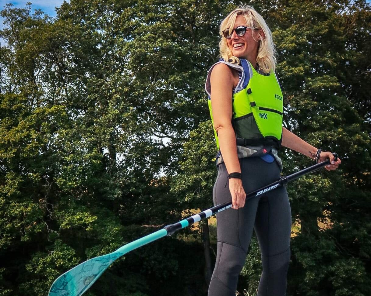 "Clair Connibeer - Clair Aka ""Tay"" - BSUPA instructor and SUP nerd! -"