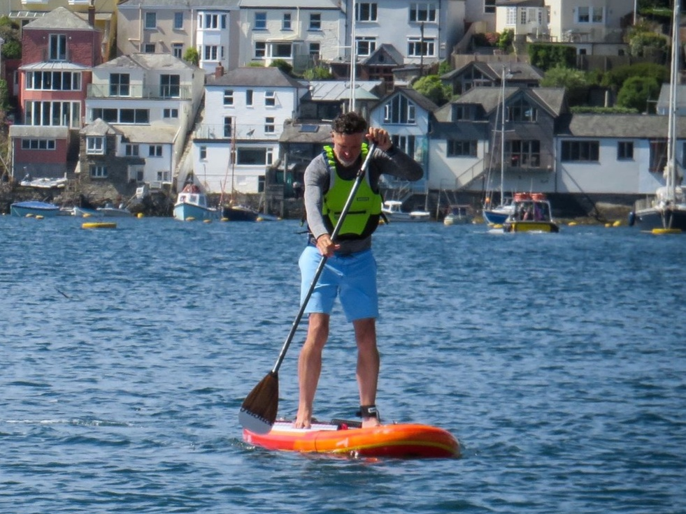 Phil Phelps (Pip) - SUP surfer, safety boat crew and instructor. -